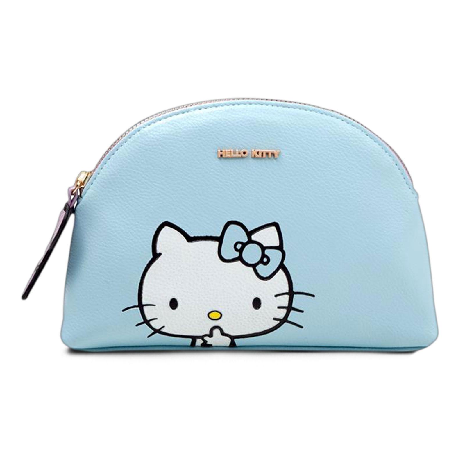 Hello Kitty - Be Quiet Kosmetiktasche blau