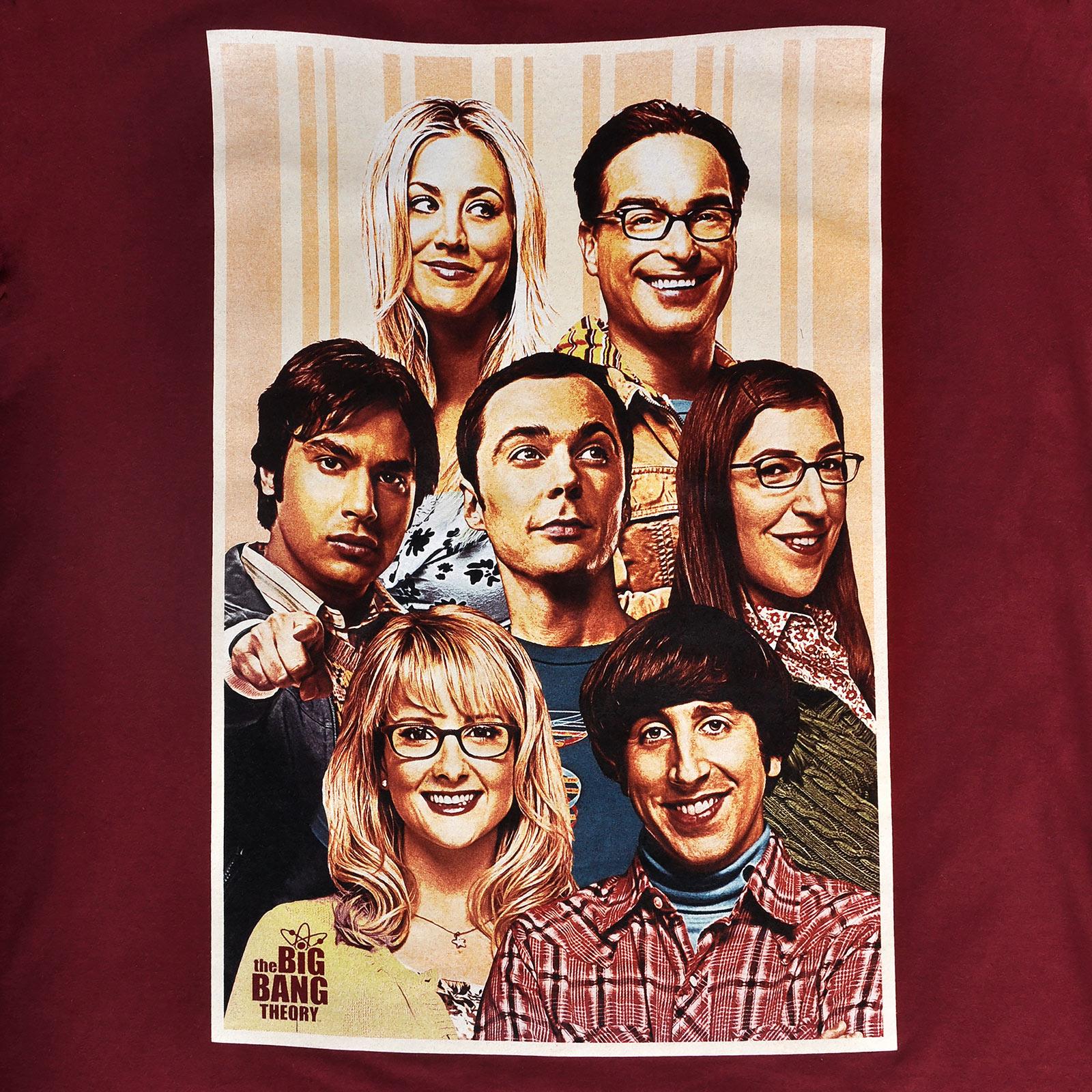 Big Bang Theory - We are Family T-Shirt