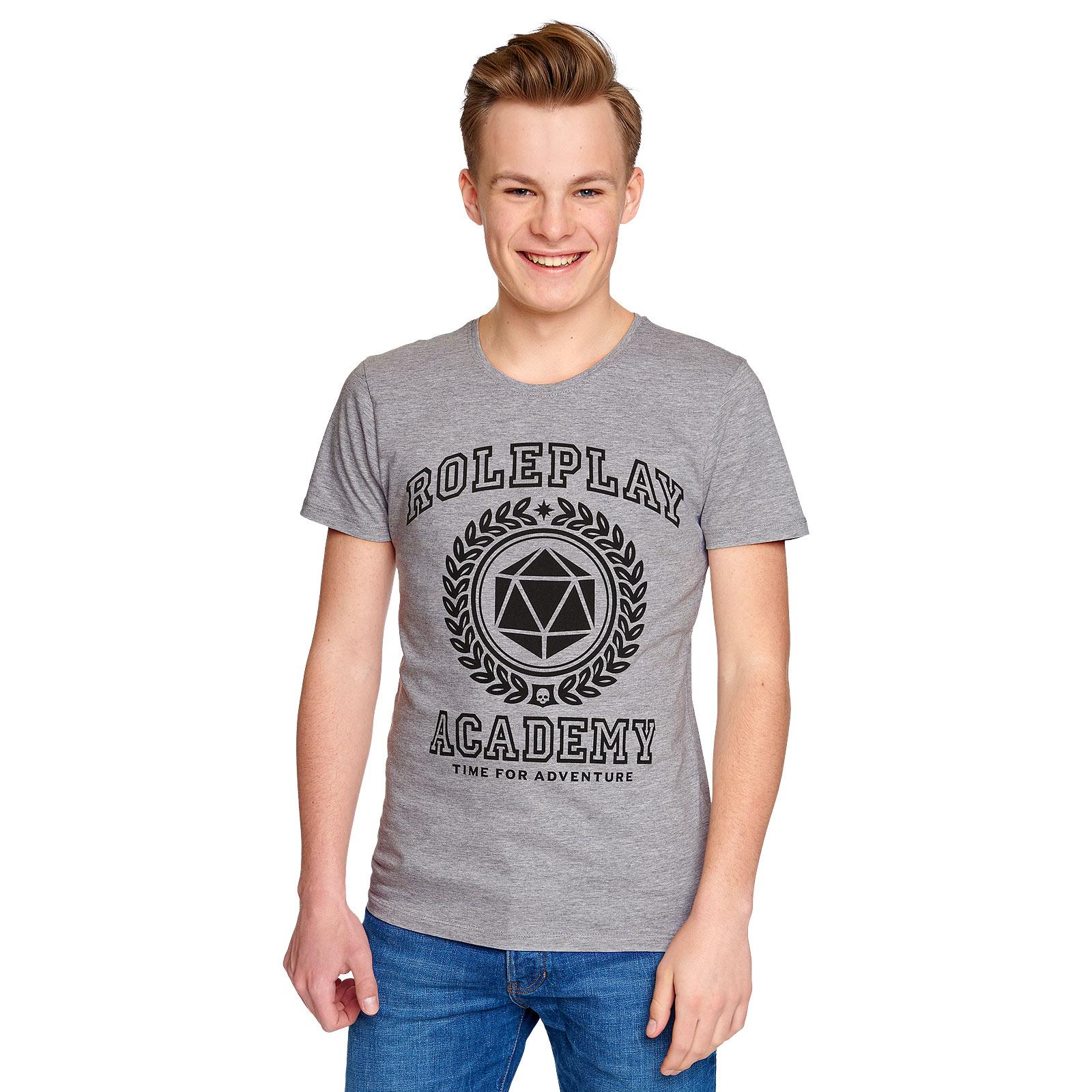 Roleplay Academy T-Shirt grau