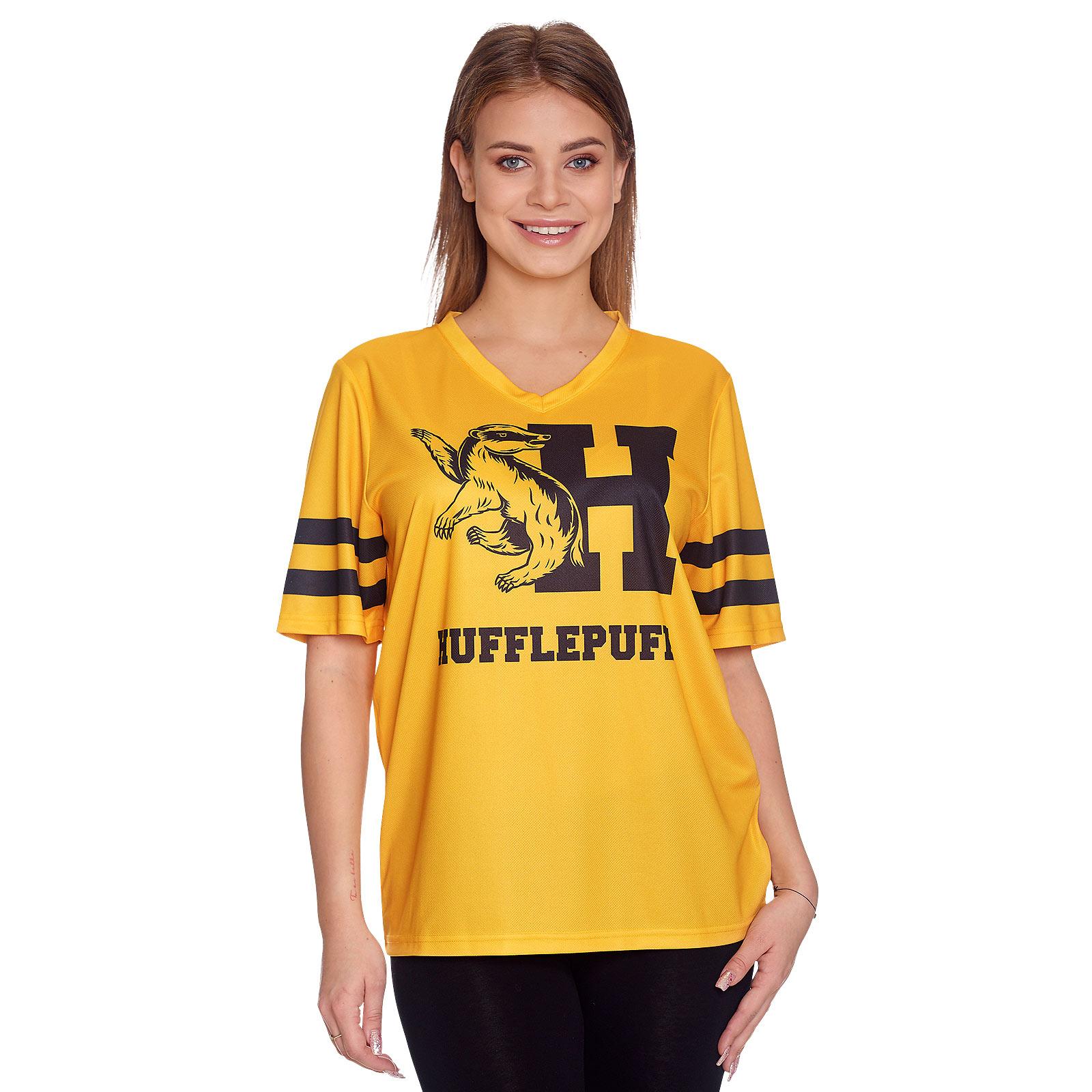 Harry Potter - Team Hufflepuff T-Shirt gelb