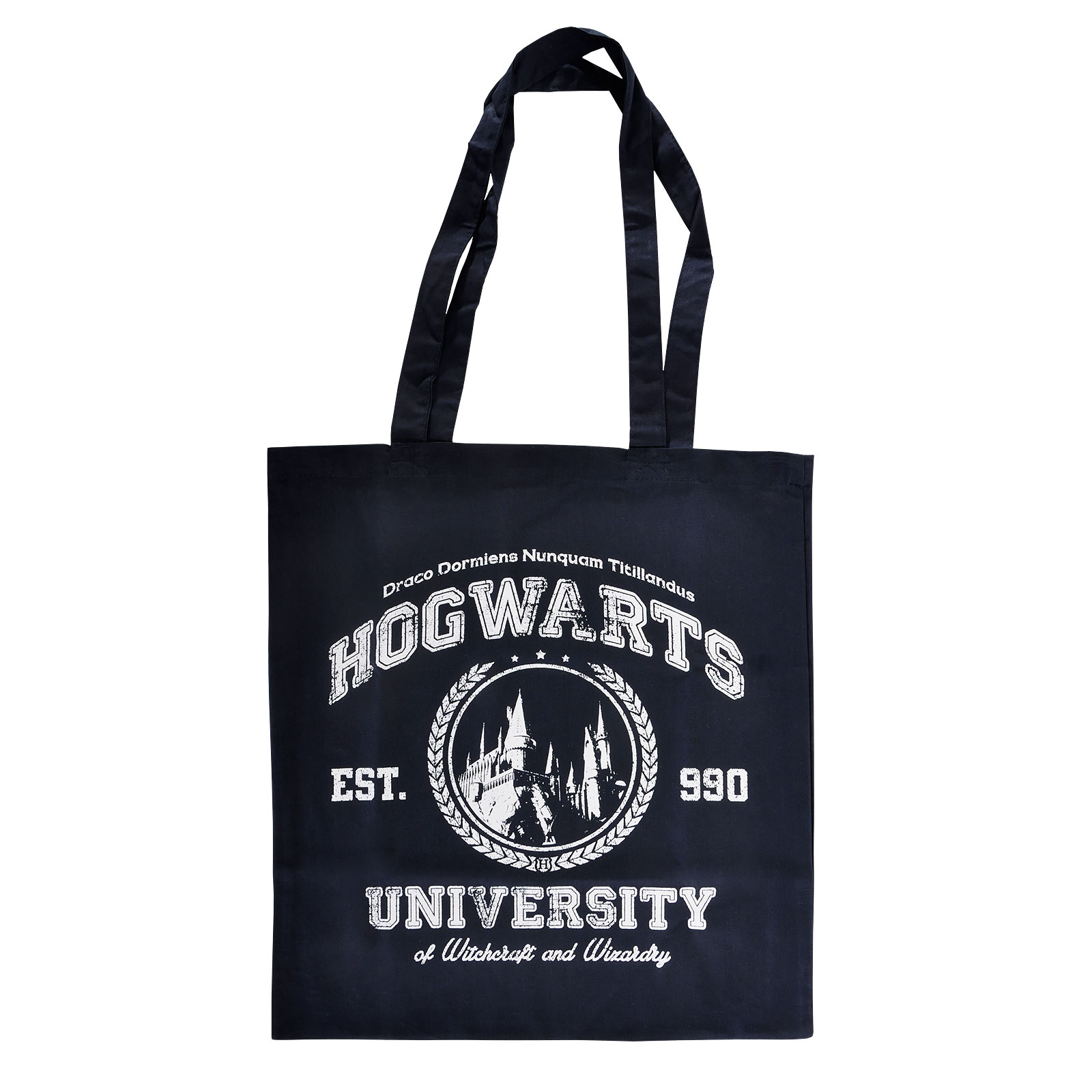 Magic University Jutebeutel navy