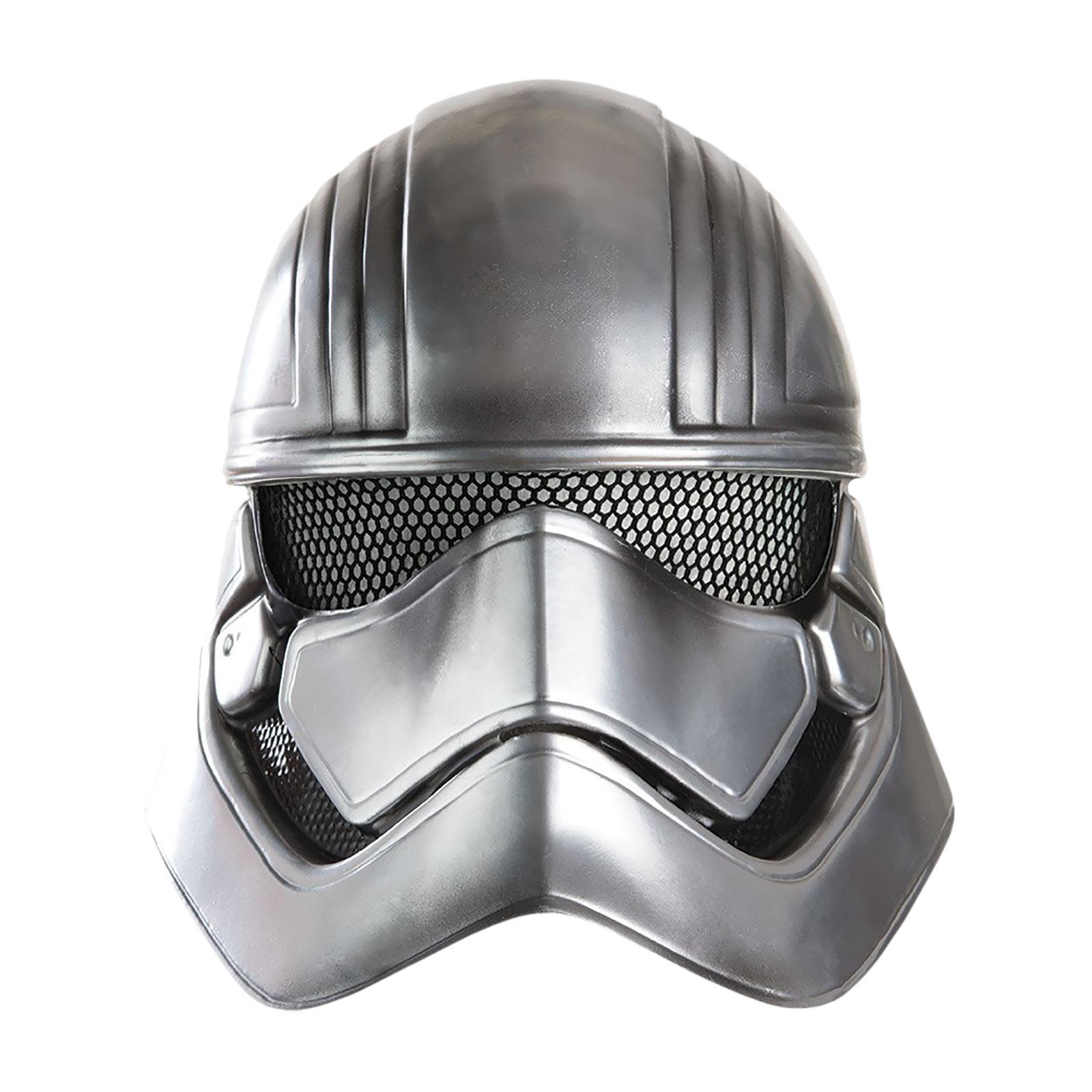 Star Wars - Captain Phasma Halb-Maske für Kinder