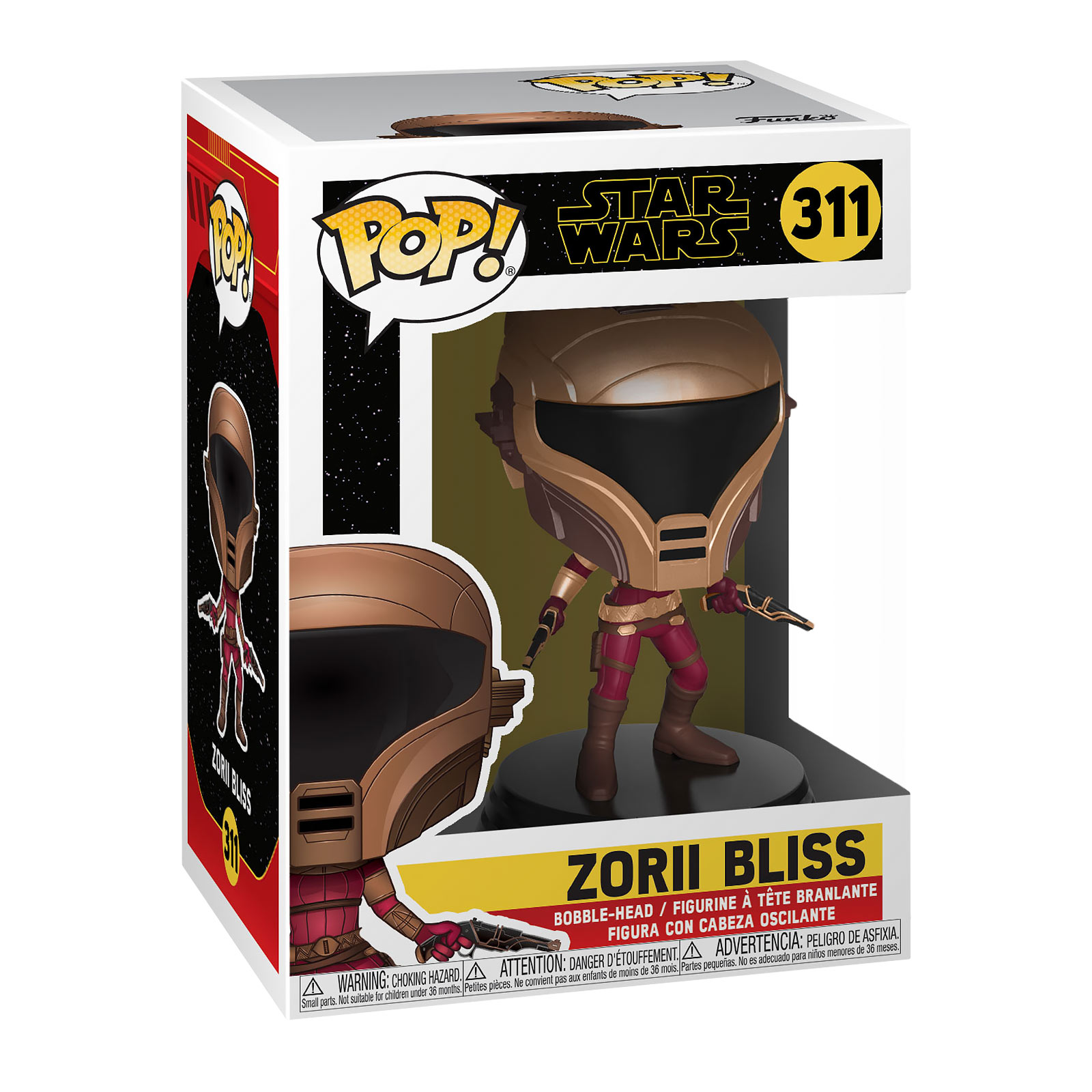 Star Wars - Zorii Bliss Funko Pop Wackelkopf-Figur