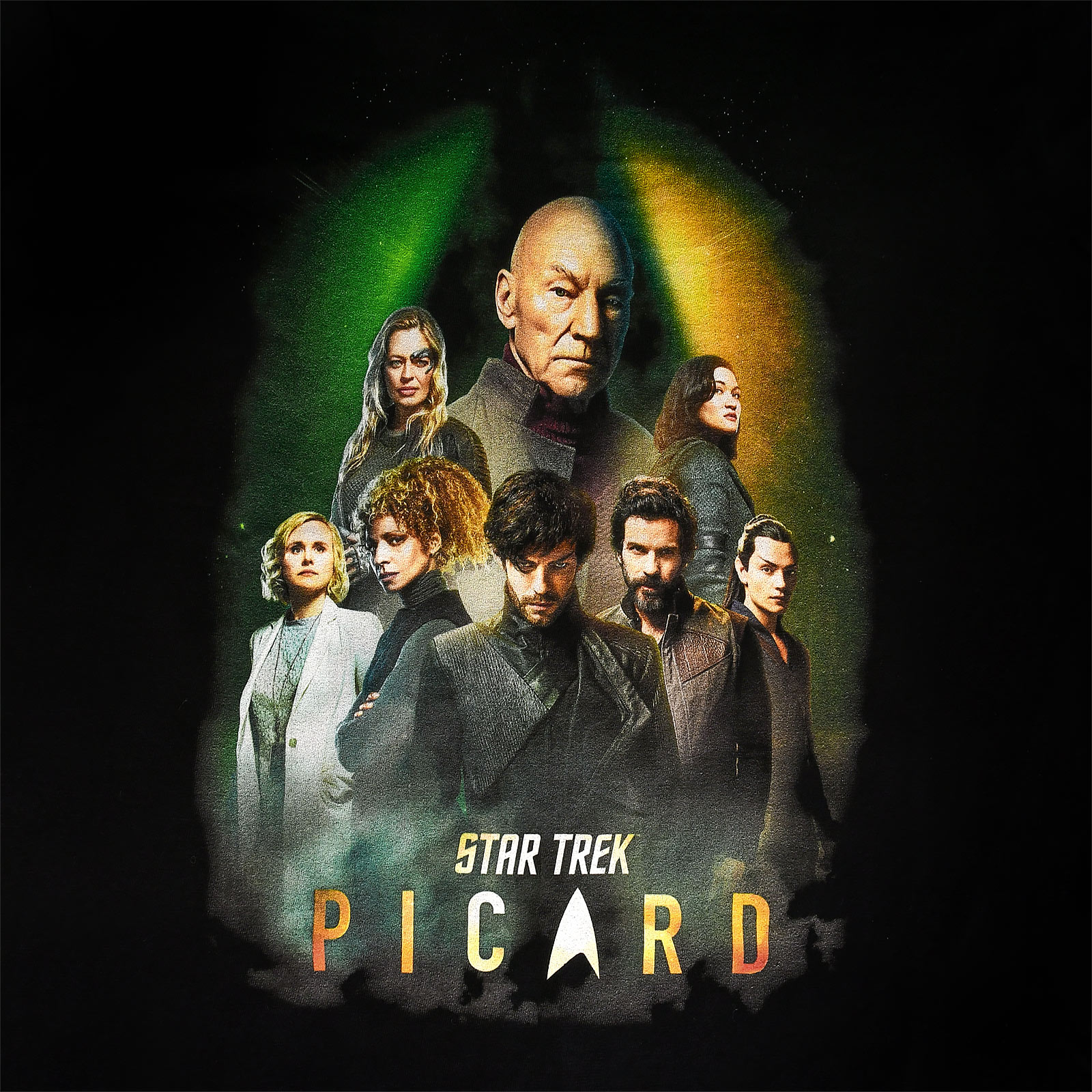 Star Trek - Picard Characters T-Shirt schwarz