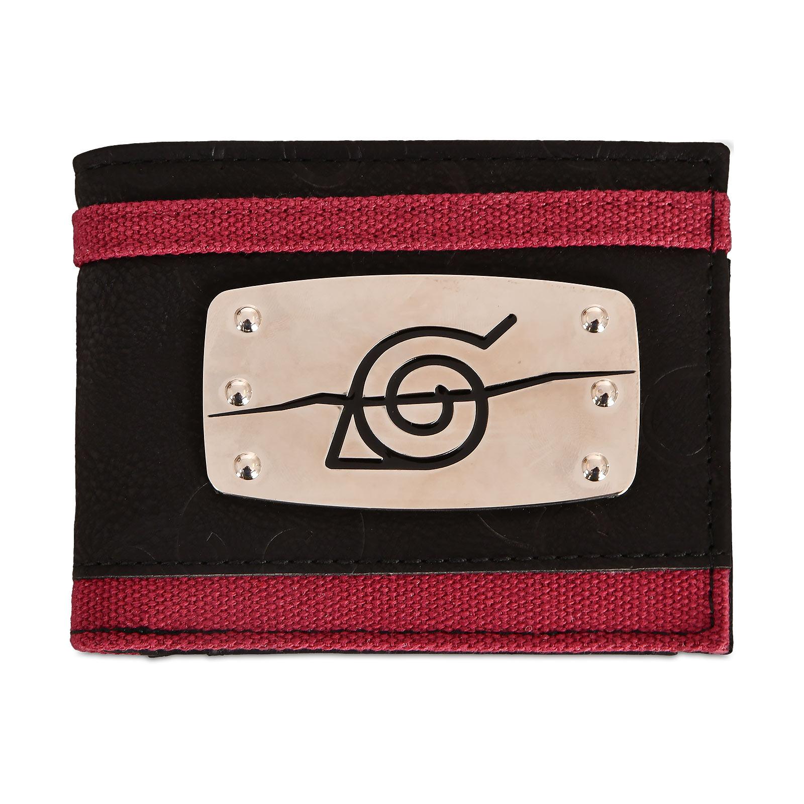 Naruto - Anti Konoha Metall Symbol Geldbörse