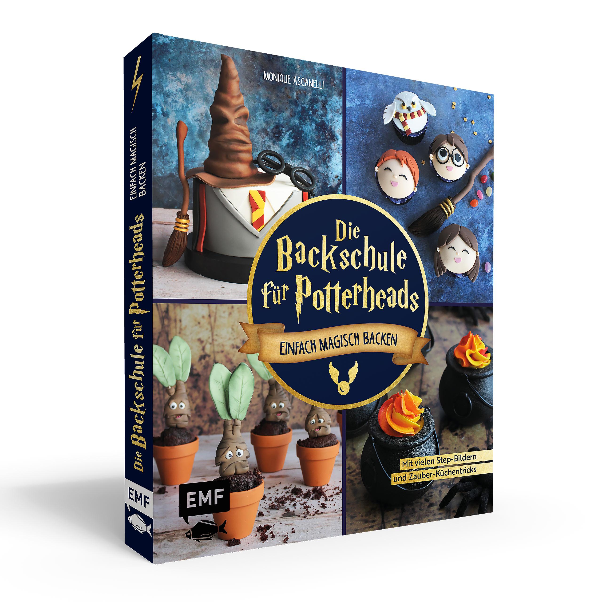 Die Backschule für Potterheads - Gebundene Ausgabe