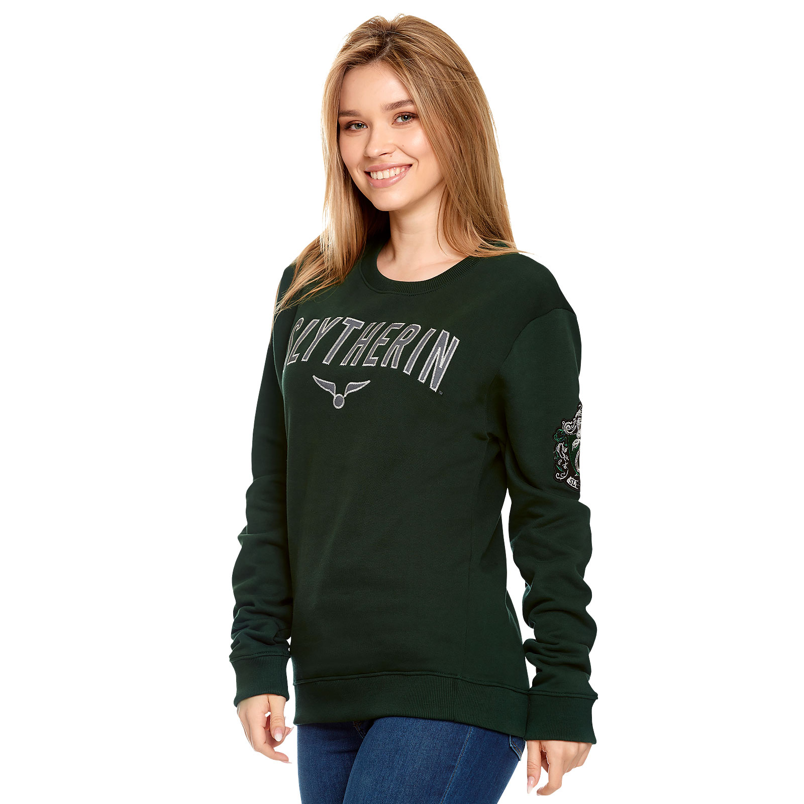 Harry Potter - Team Slytherin Sweater grün