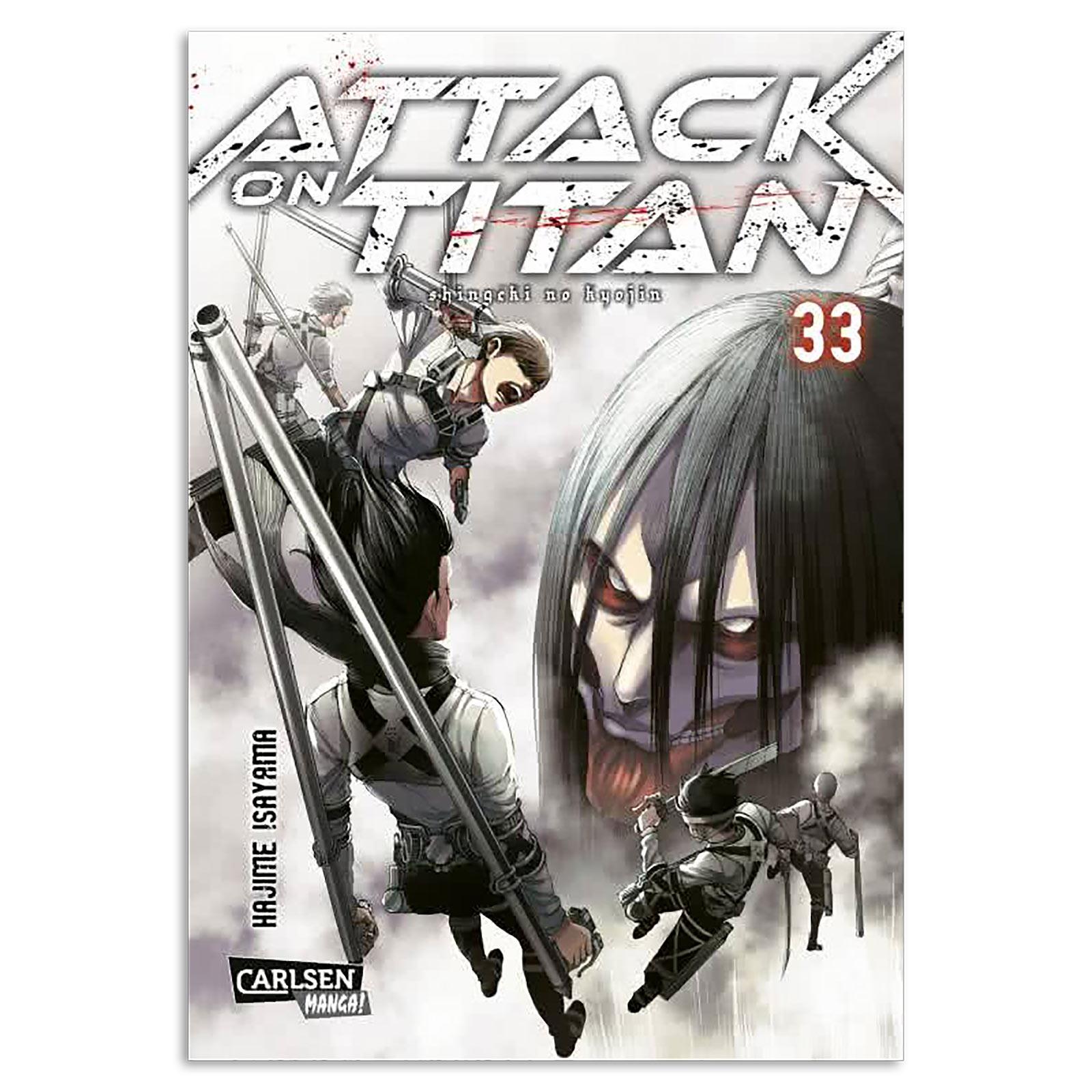 Attack on Titan - Band 33 Taschenbuch