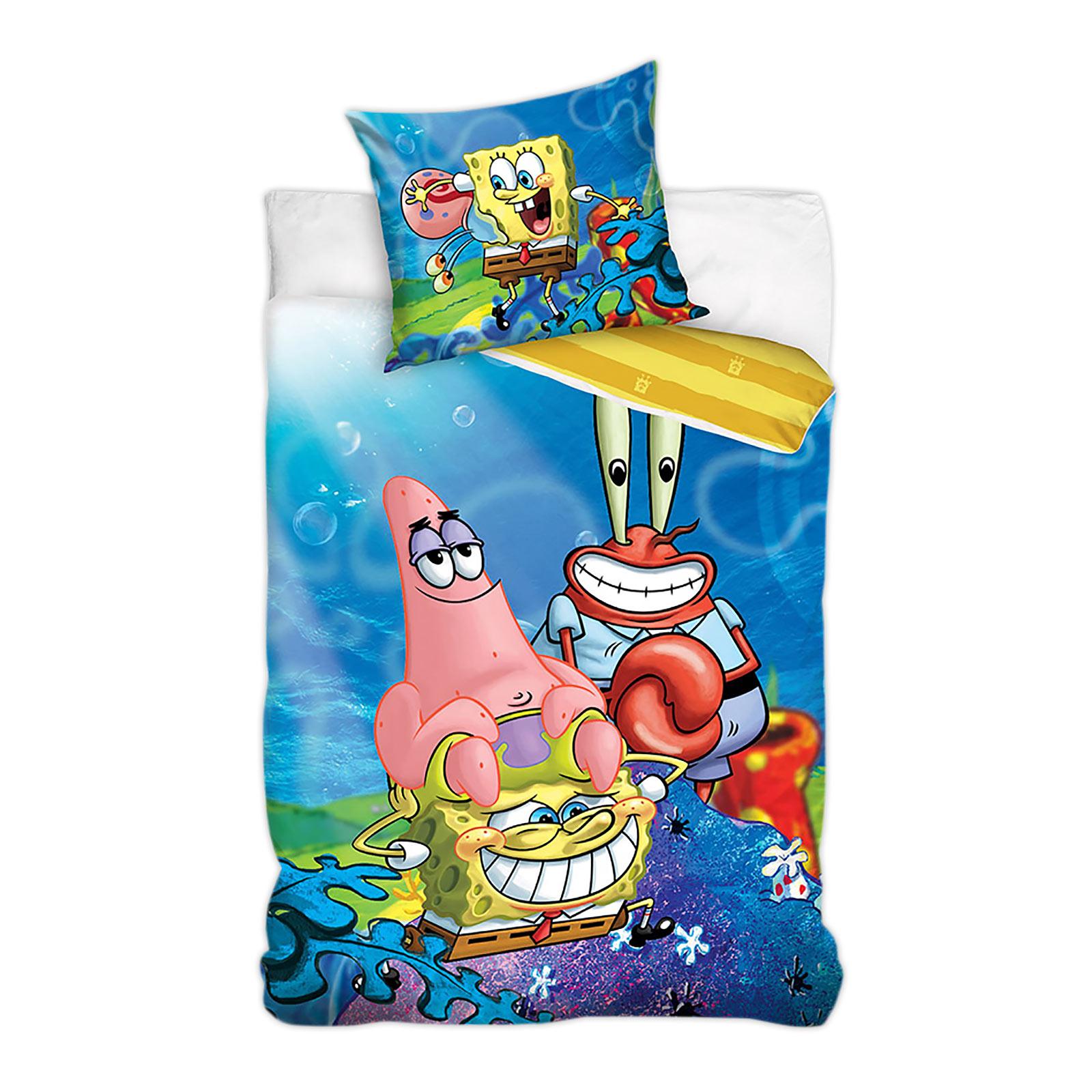 SpongeBob & Friends Wende-Bettwäsche