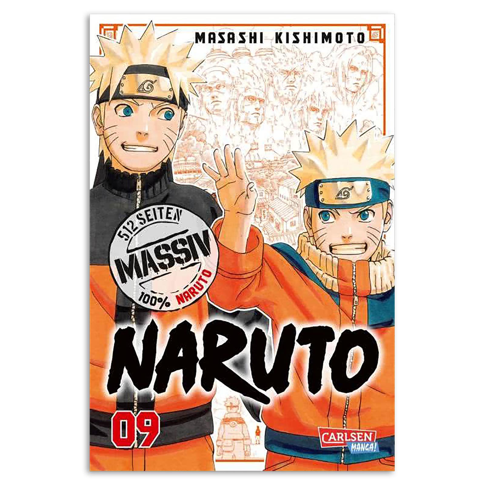 Naruto - Sammelband 9 Taschenbuch