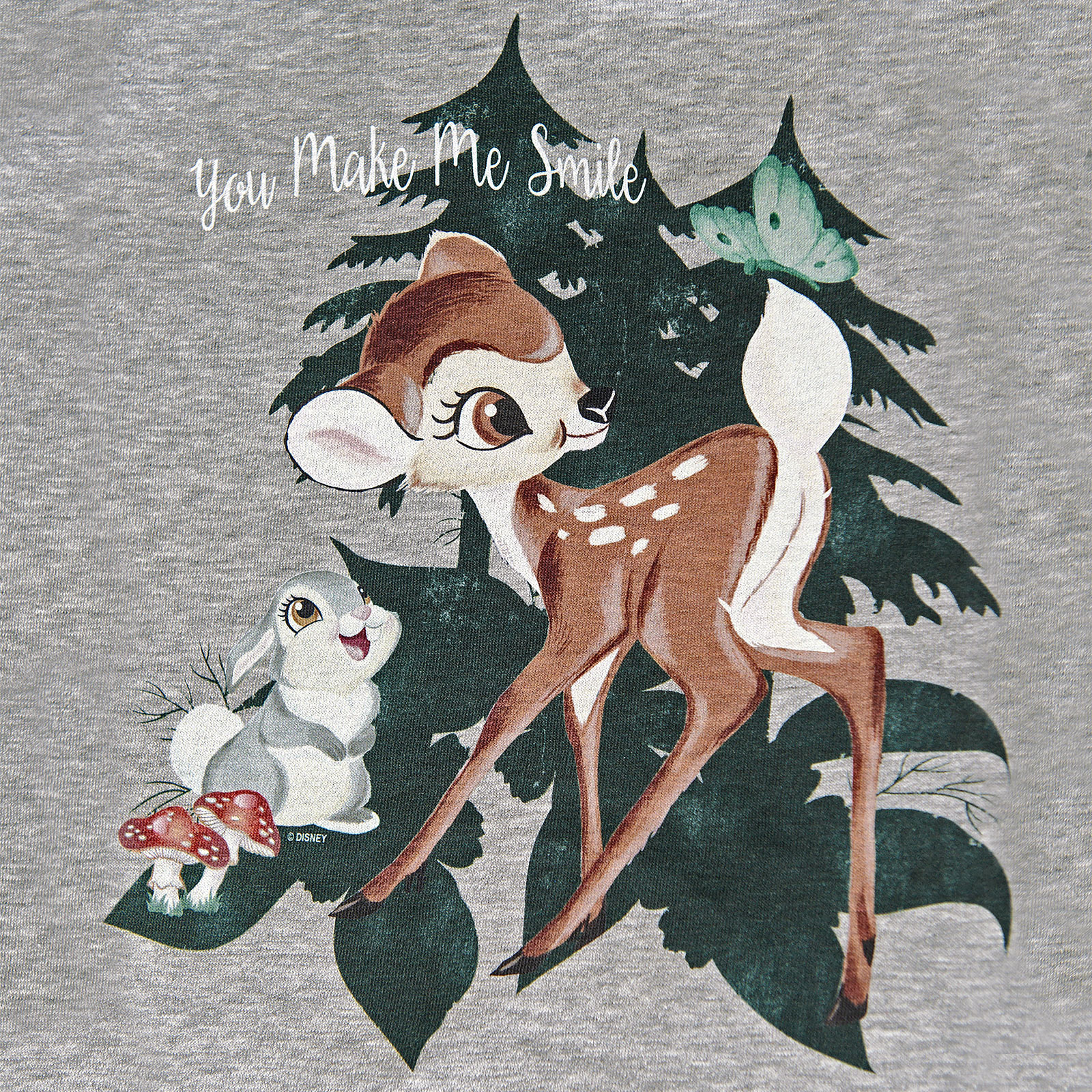 Bambi - Smile Hoodie Damen