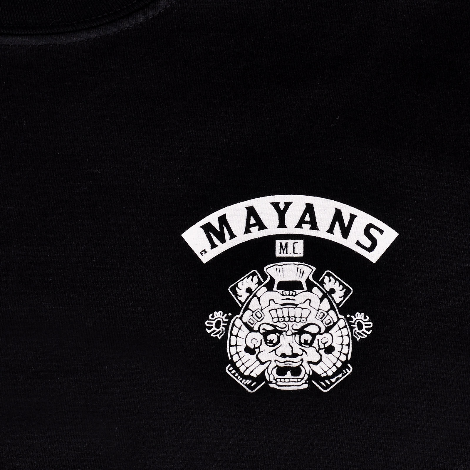 Mayans MC - Logo T-Shirt schwarz