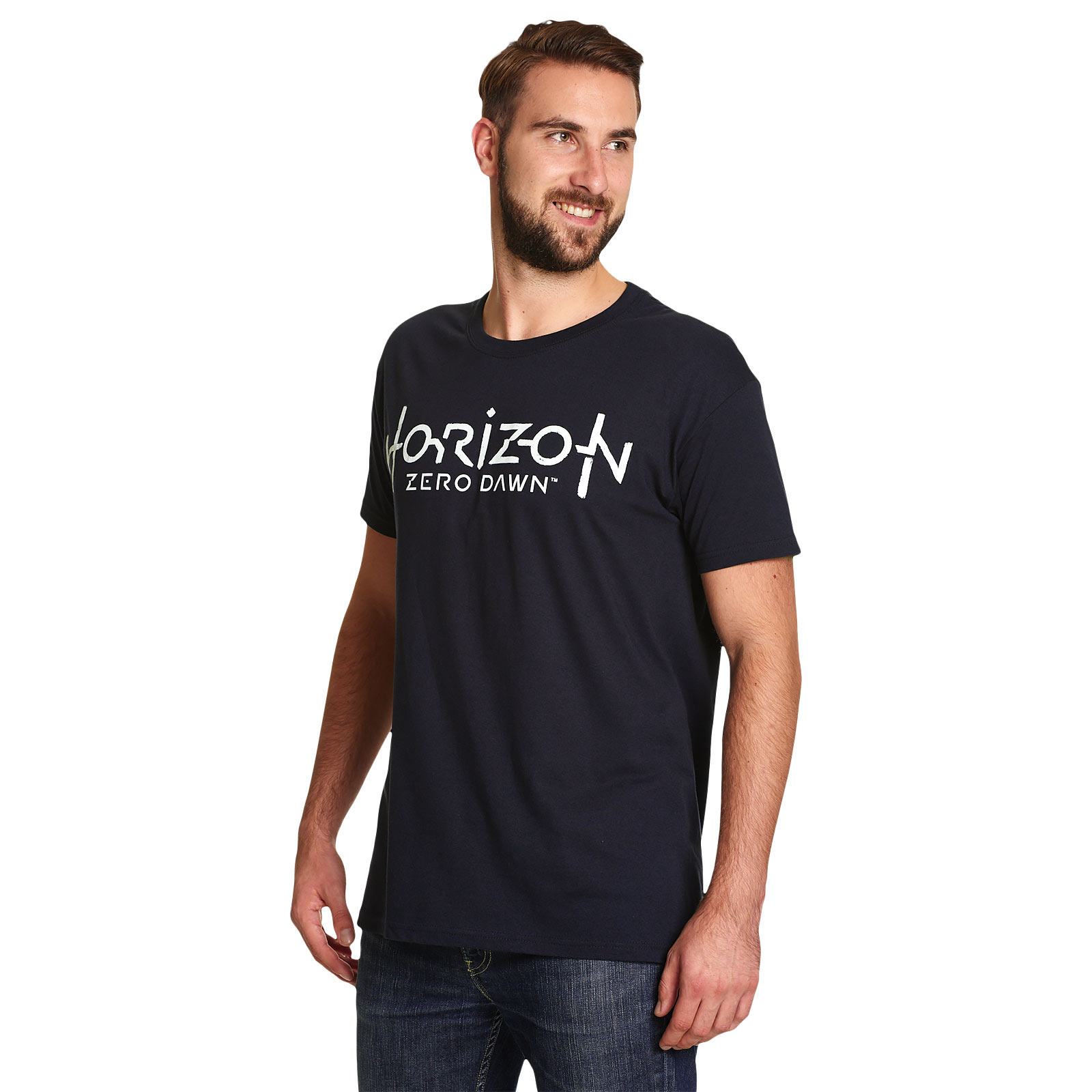 Horizon Zero Dawn - Logo T-Shirt blau