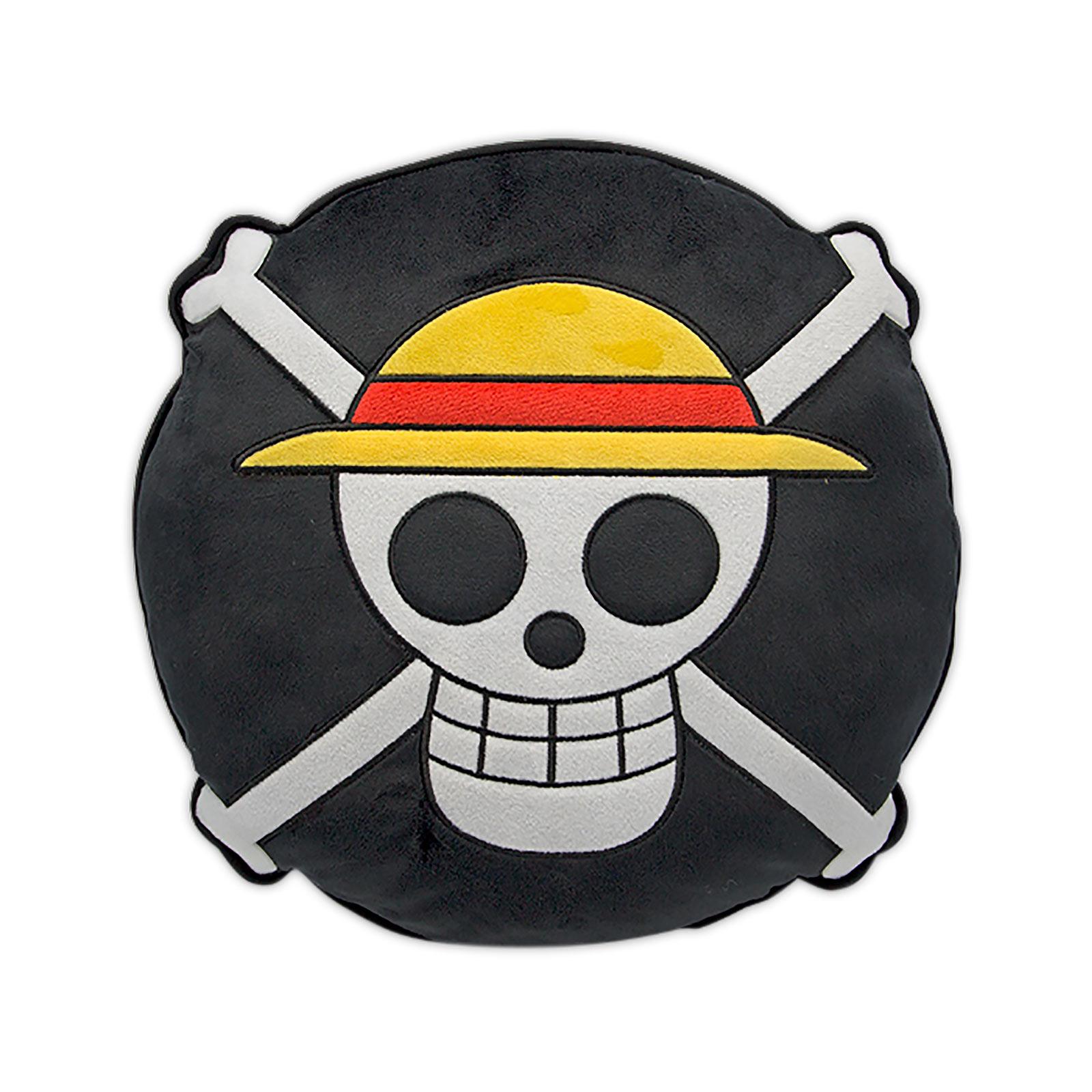 One Piece - Strohhutbande Skull Logo Kissen
