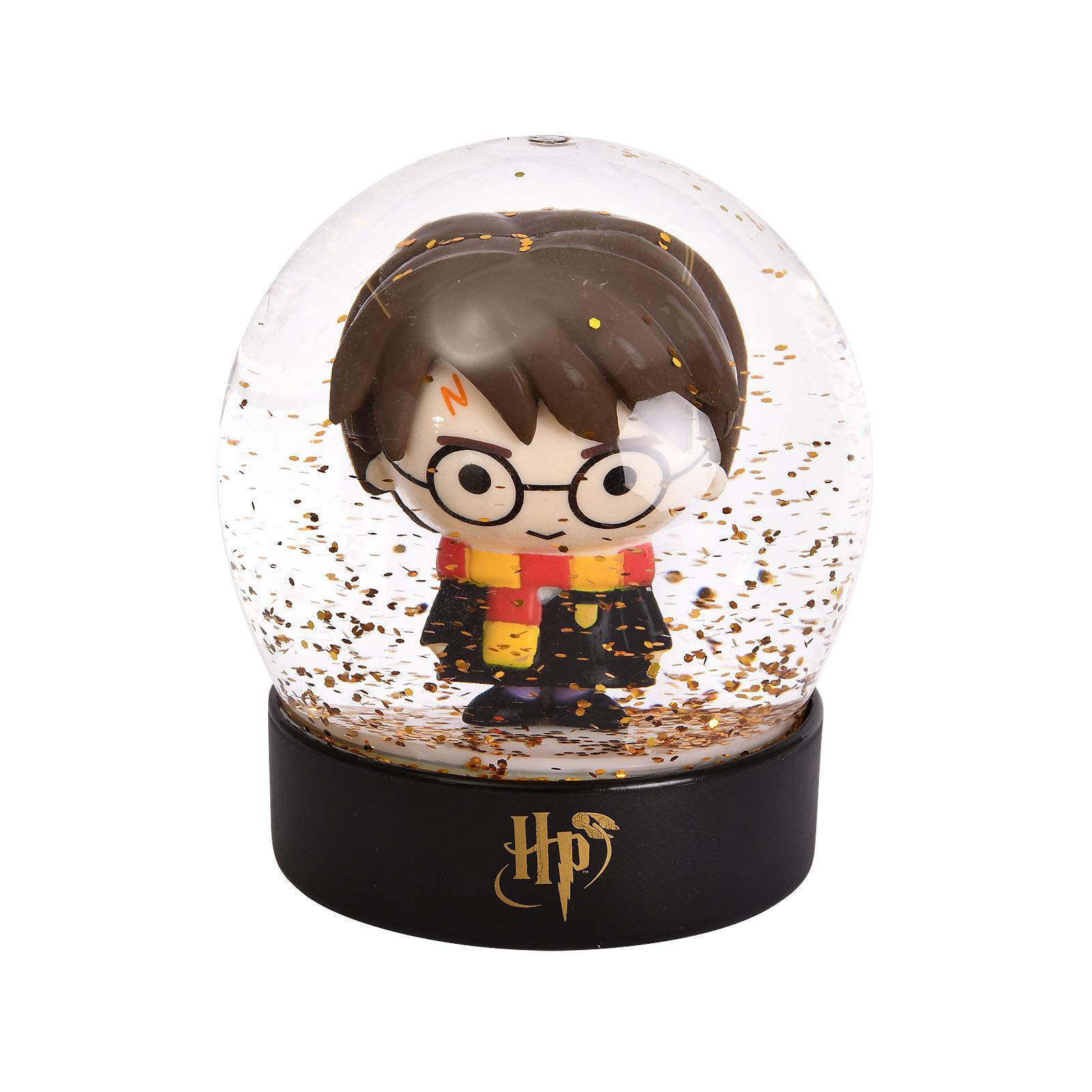 Harry Potter Chibi Schneekugel mit Glitter