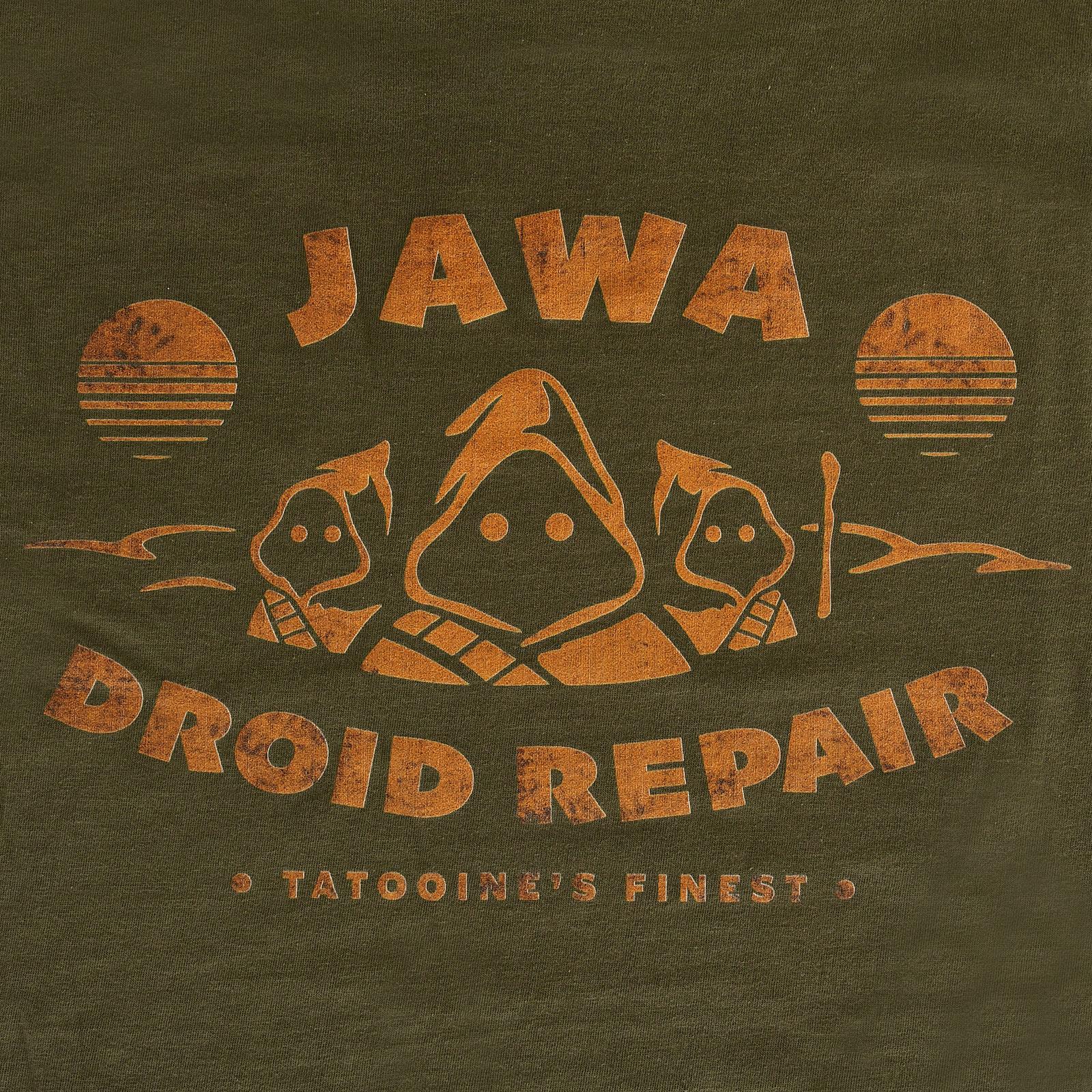 Star Wars - Jawa Droid Repair T-Shirt grün