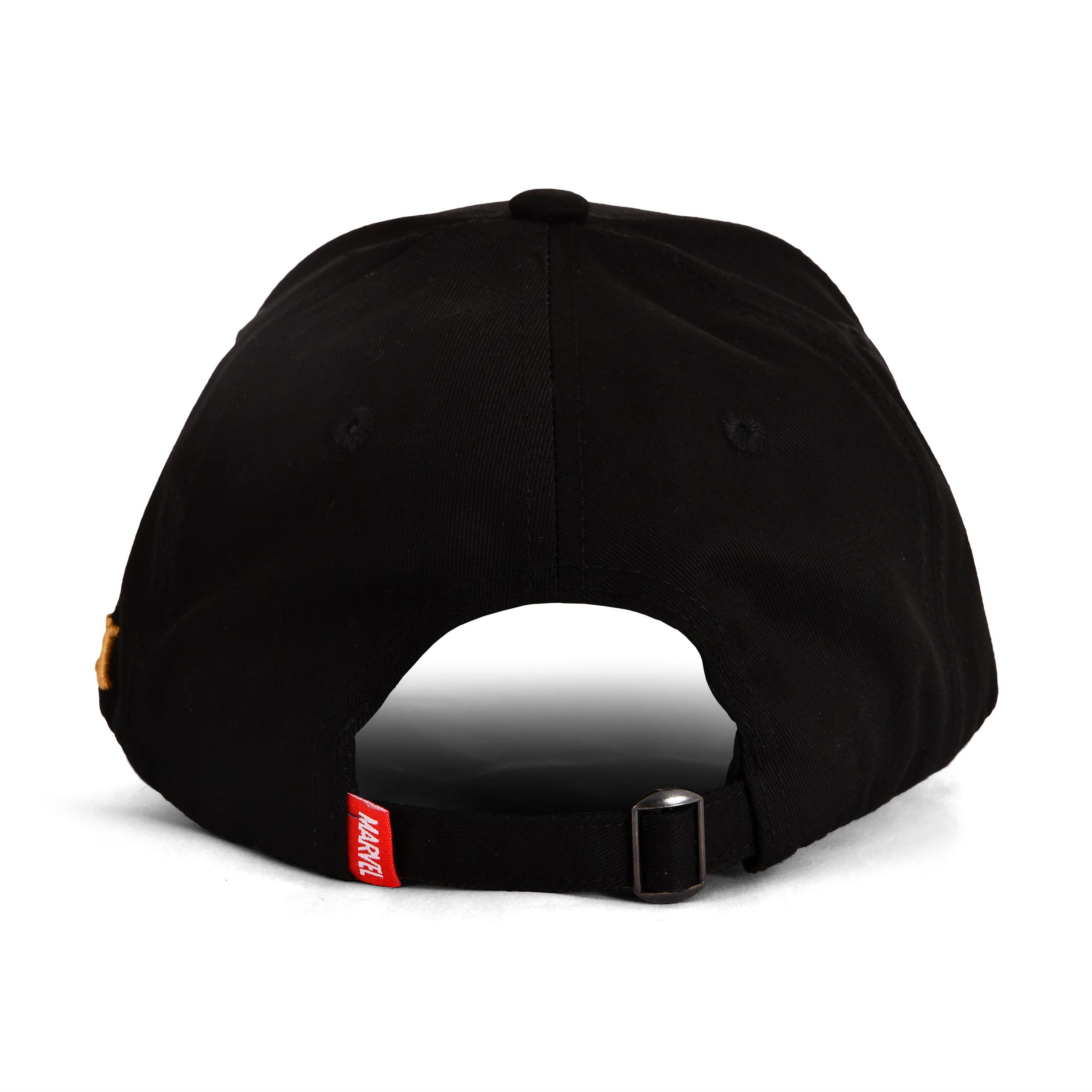 Loki - Logo Basecap schwarz