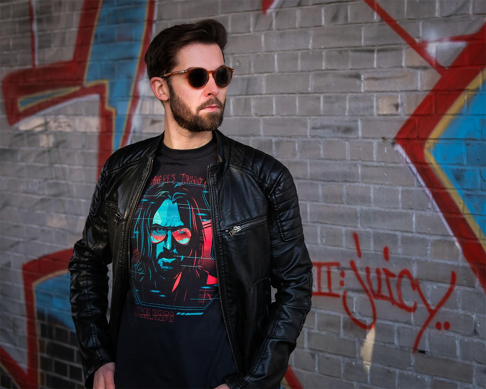 Cyberpunk 2077 - Digital Ghost T-Shirt schwarz