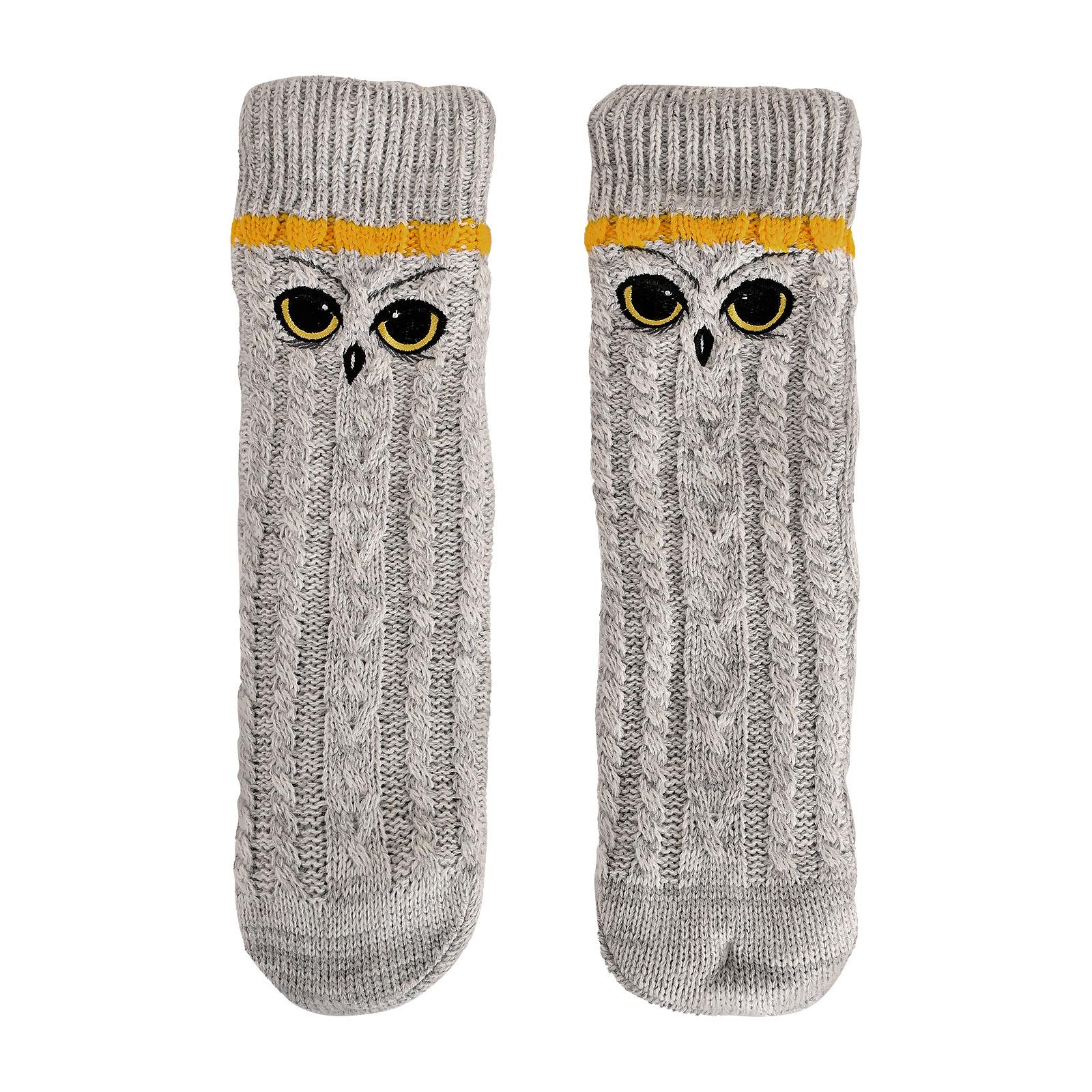 Harry Potter - Hedwig Socken grau