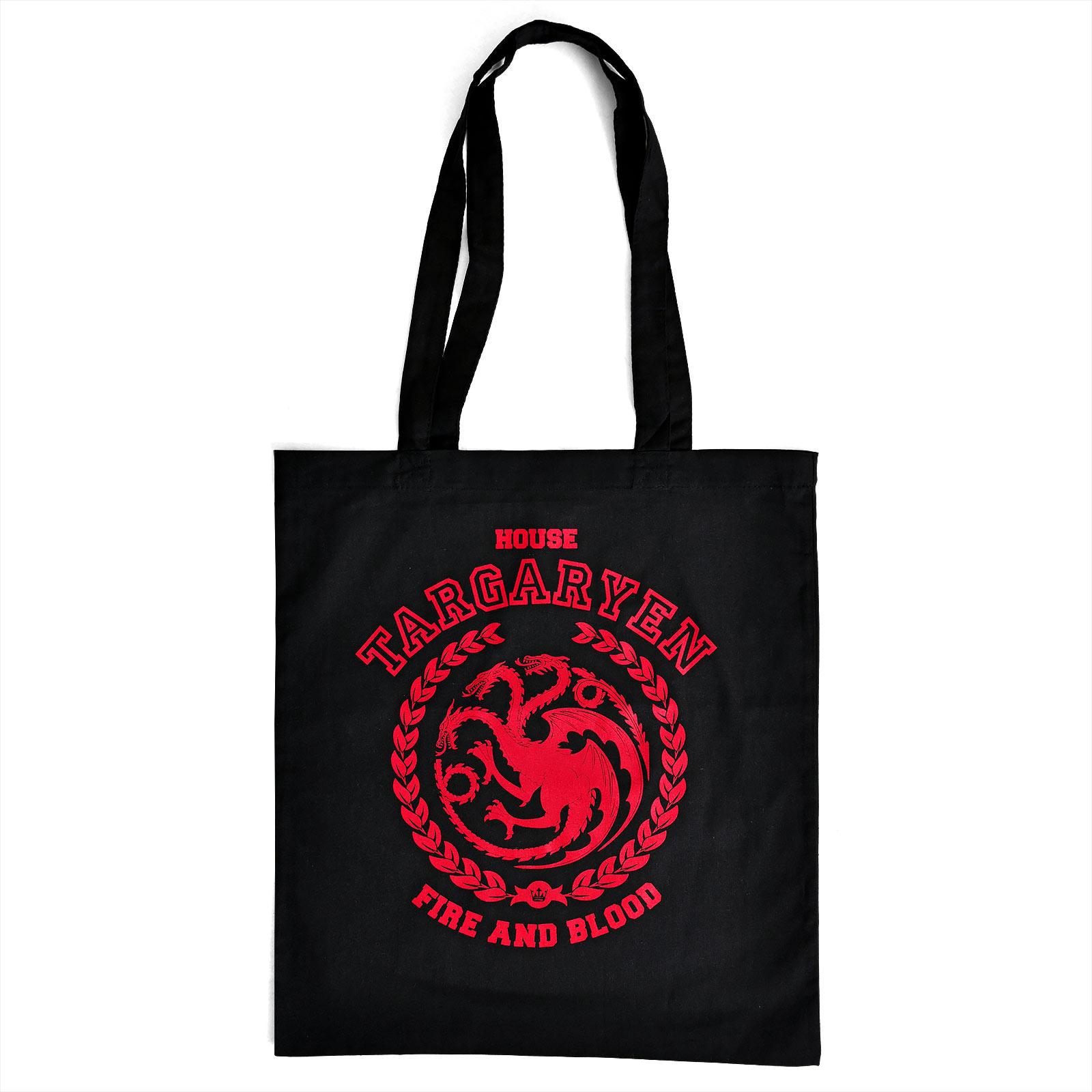 Game of Thrones - Targaryen Wappen Jutebeutel