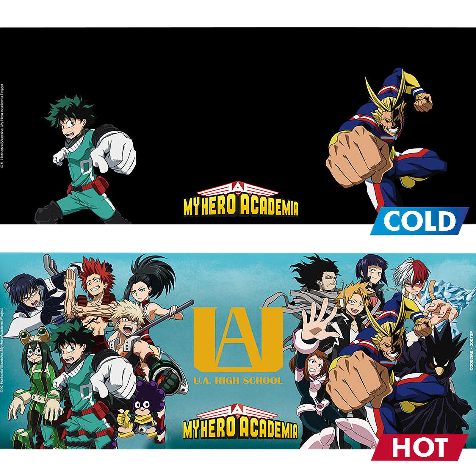 My Hero Academia - Group Thermoeffekt Tasse