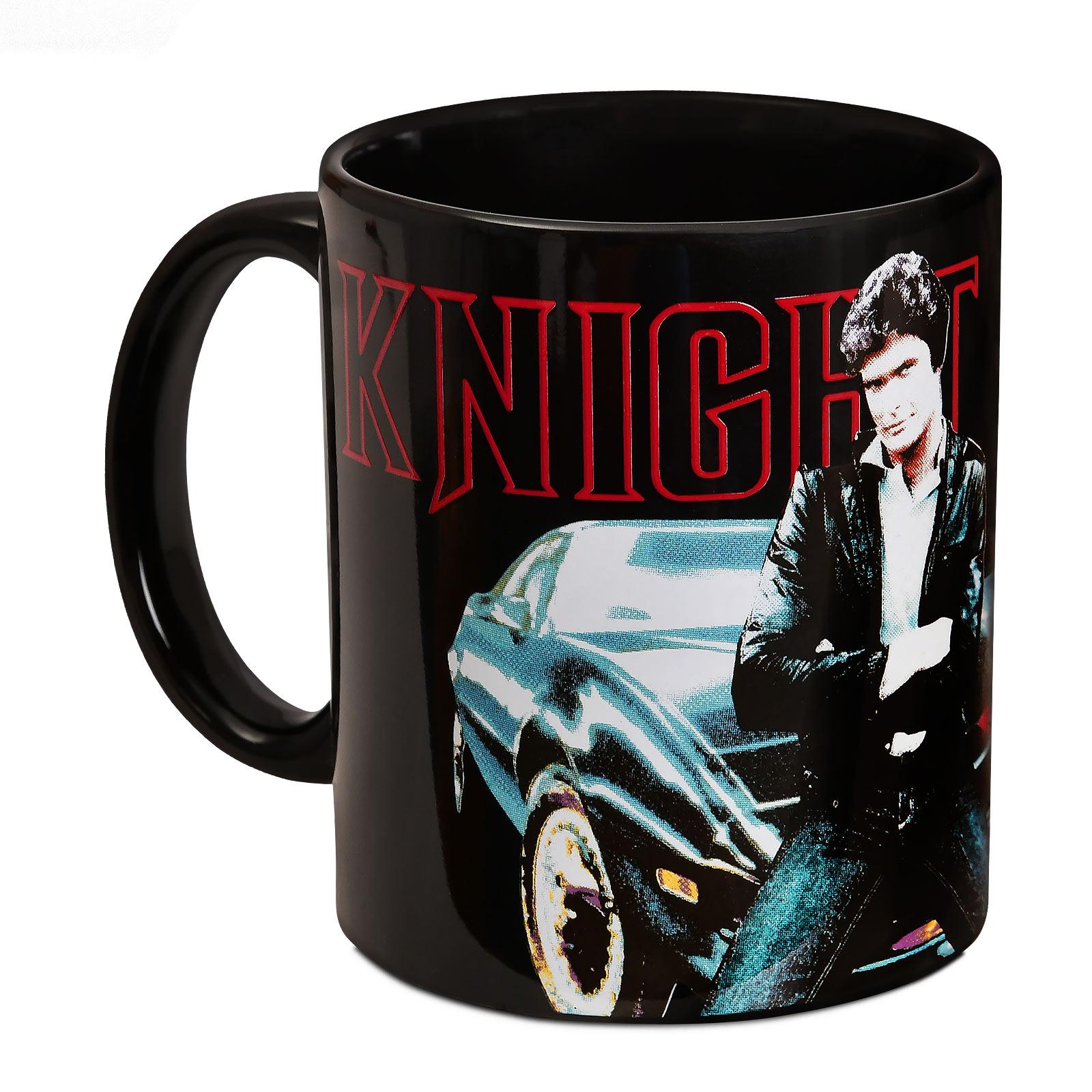 Knight Rider - Michael Knight und K.I.T.T. Tasse