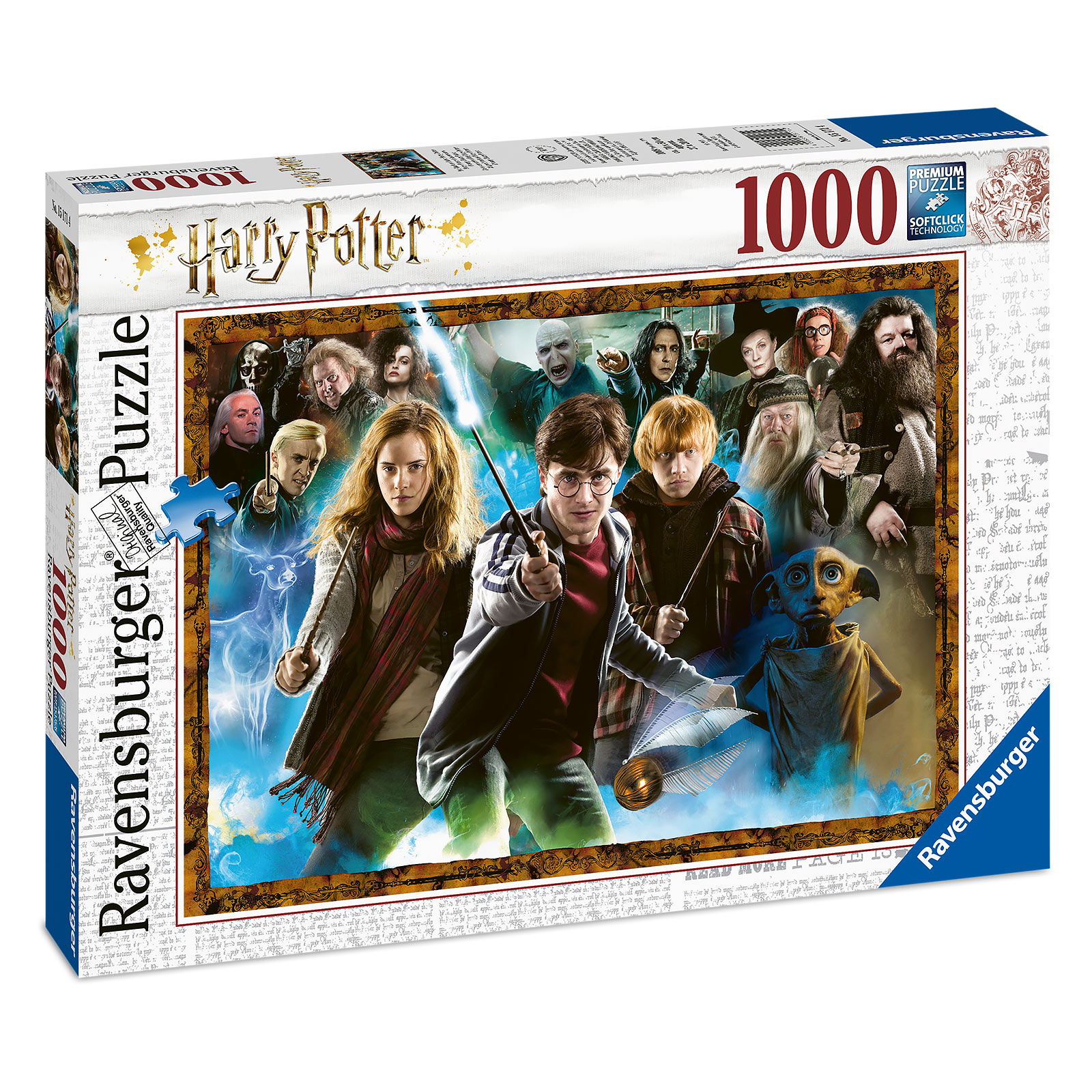 Harry Potter - Charakter Collage Puzzle