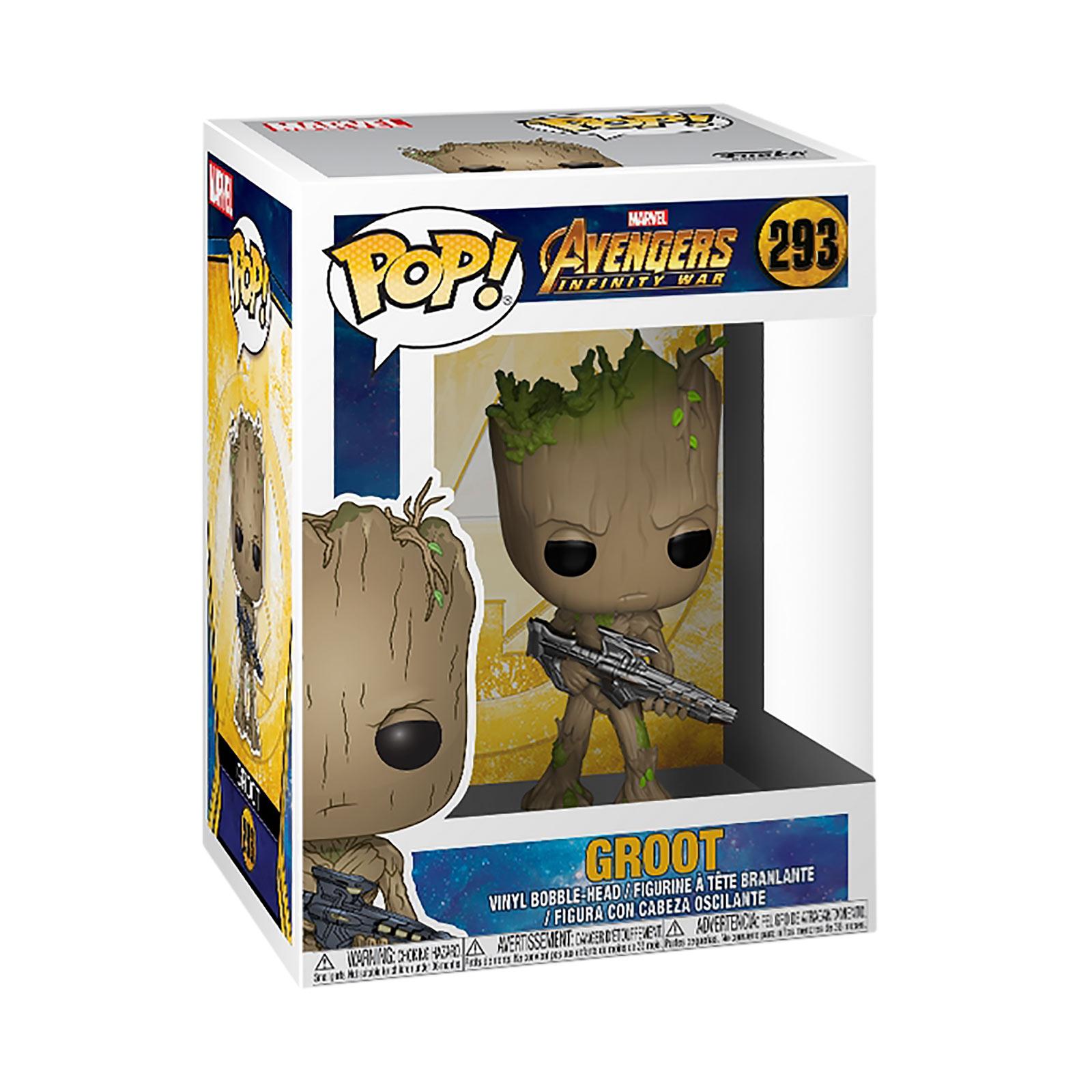 Avengers - Groot Infinity War Funko Pop Wackelkopf-Figur