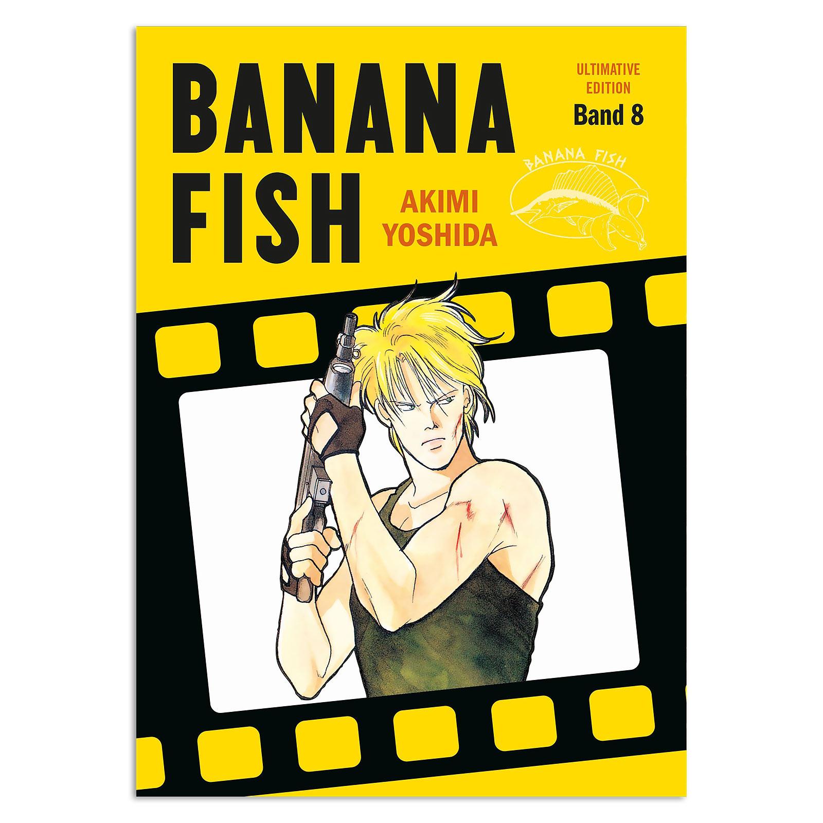 Banana Fish - Band 8 Taschenbuch Ultimate Edition