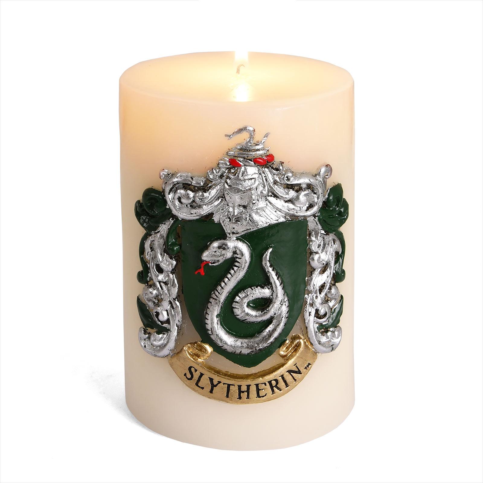 Harry Potter - Slytherin Wappen XL Kerze