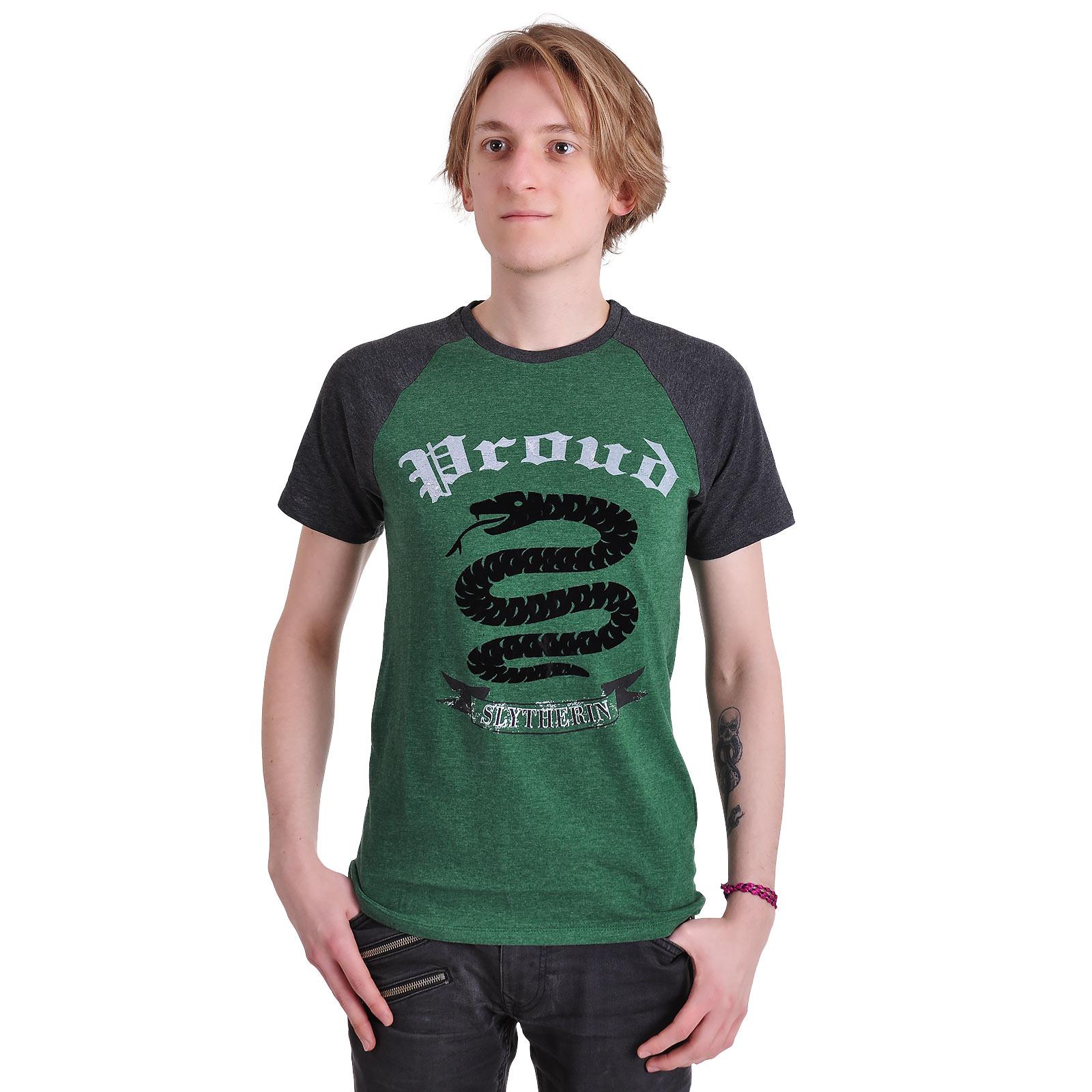 Harry Potter - Proud Slytherin T-Shirt grün