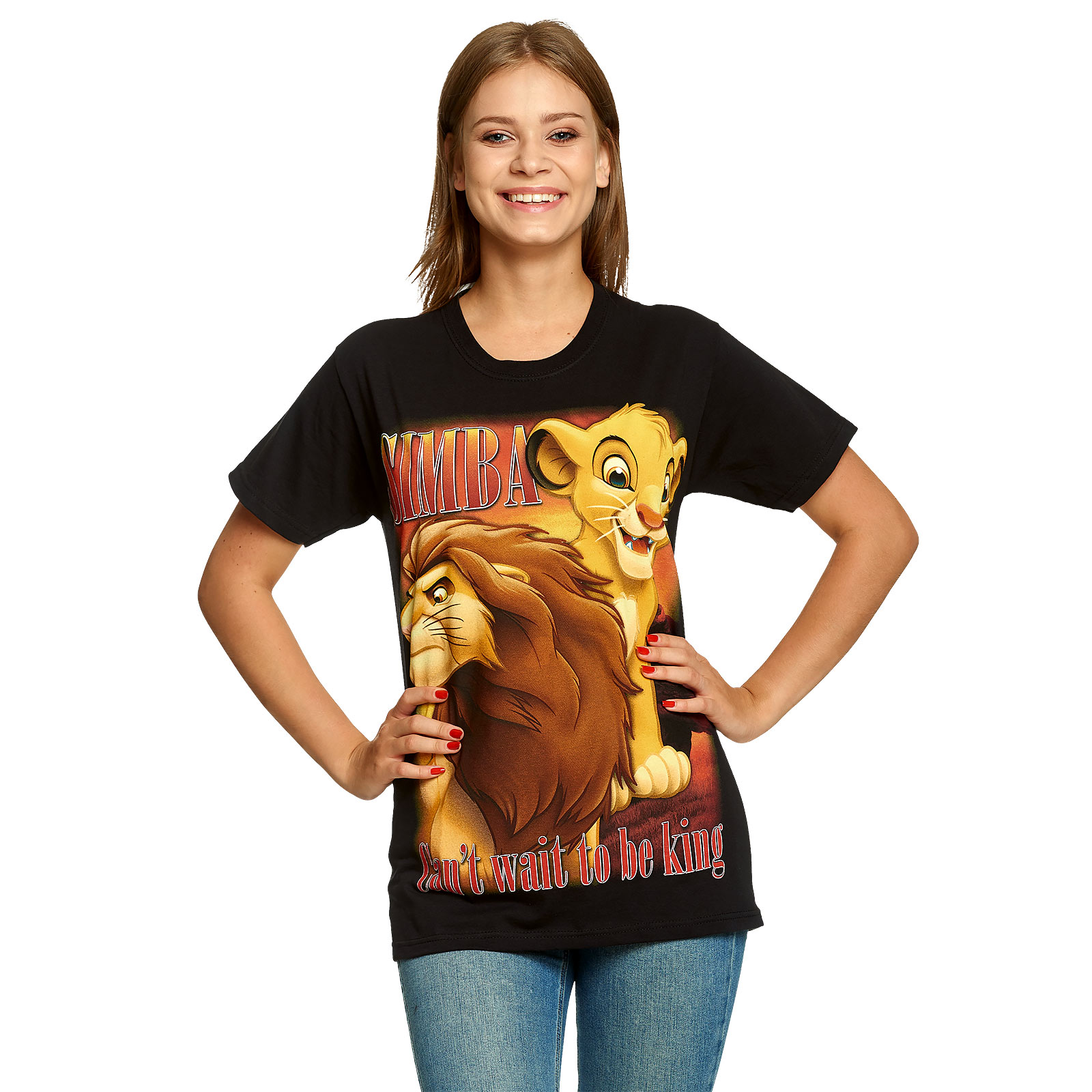 König der Löwen - Simba Next King T-Shirt schwarz