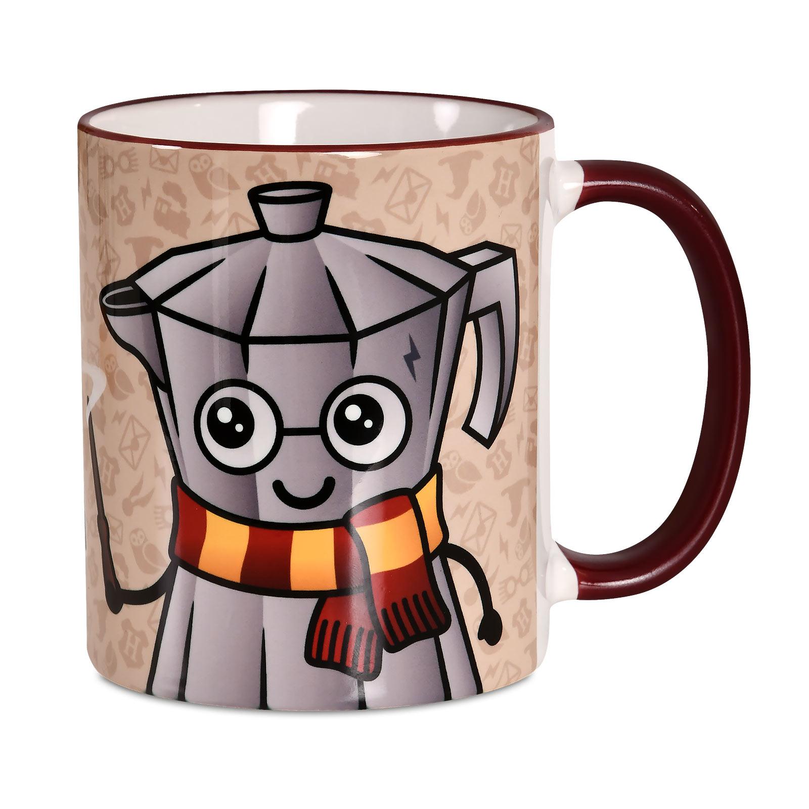 Espresso Patronum Tasse für Harry Potter Fans
