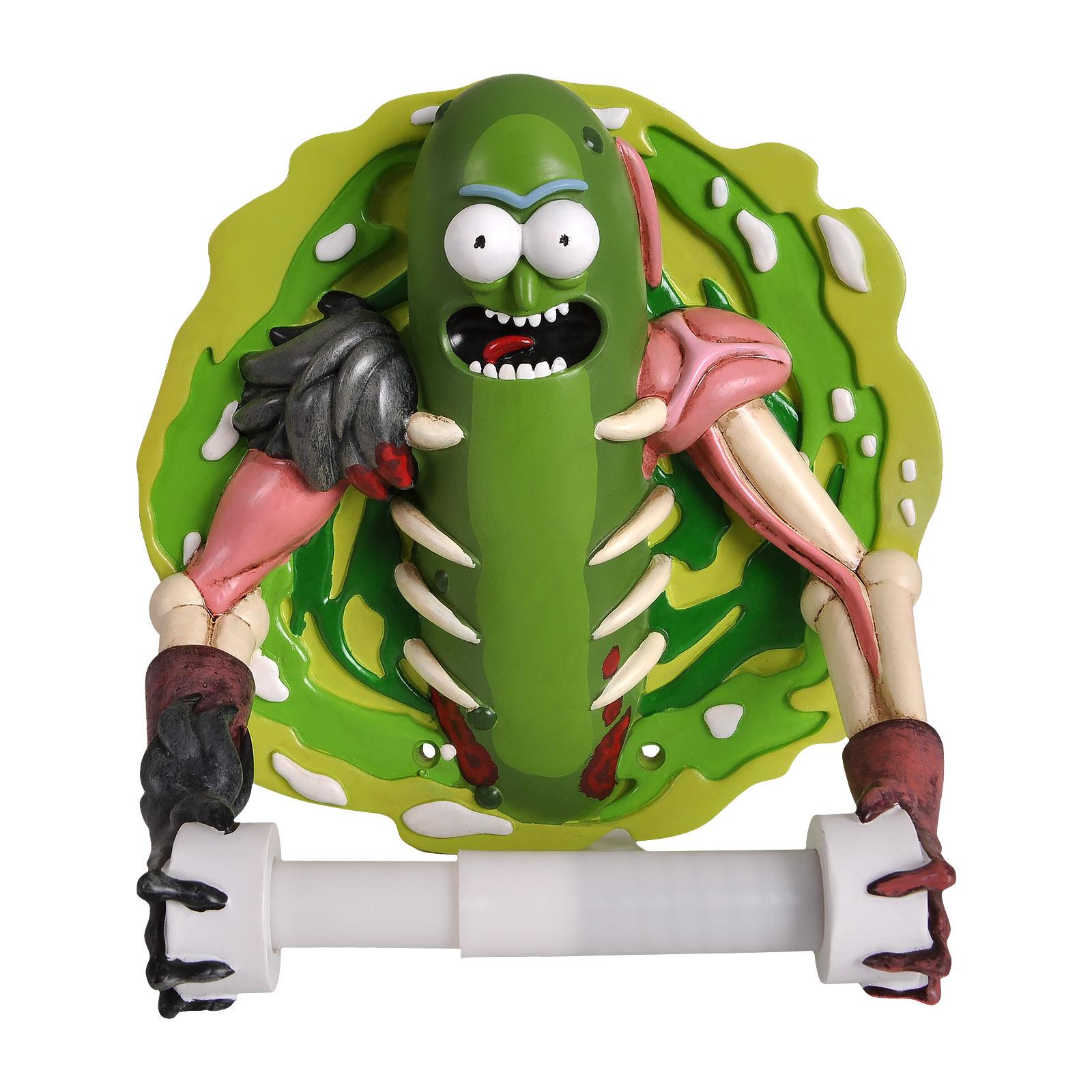 Rick and Morty - Pickle Rick Toilettenpapierhalter