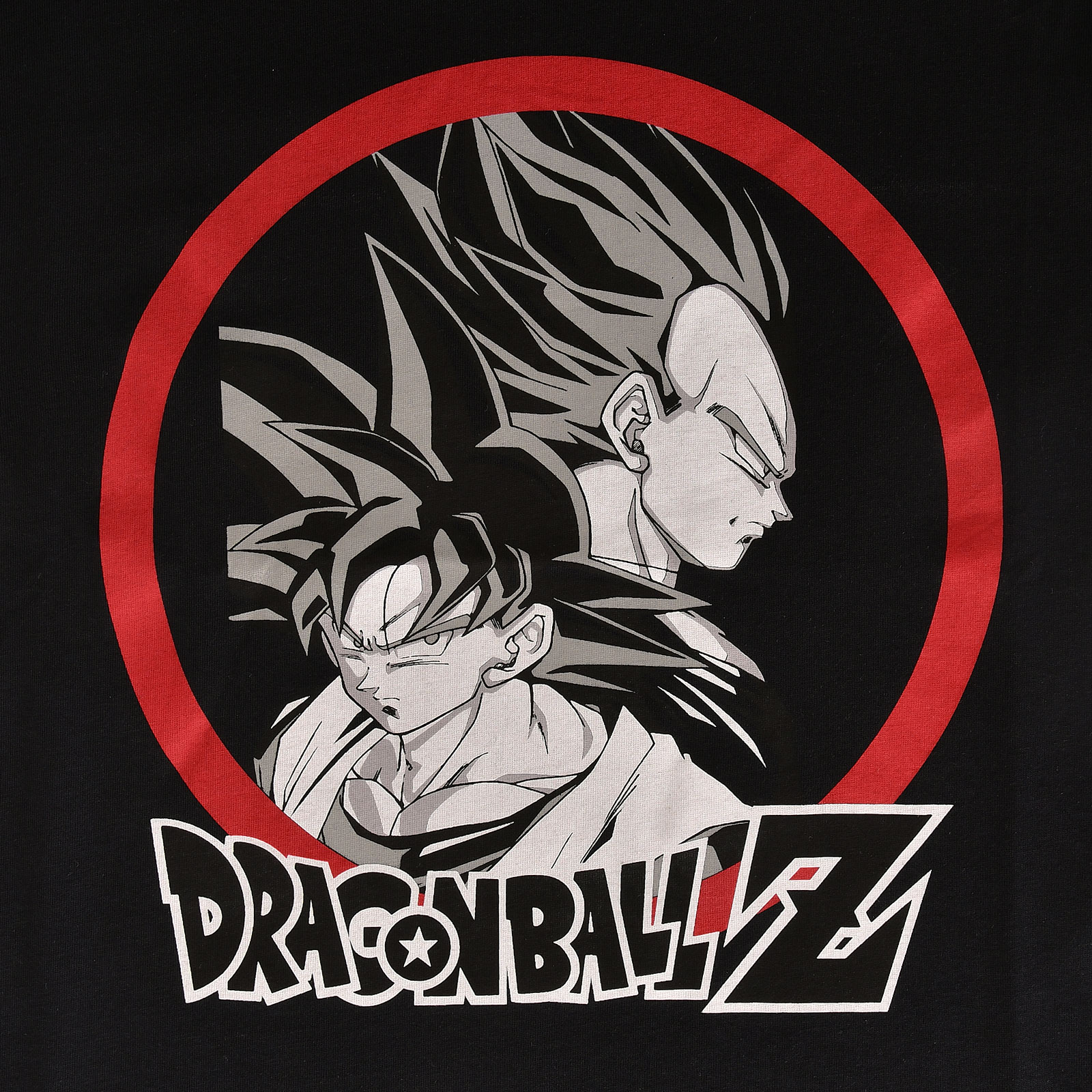 Dragon Ball Z - Goku vs Vegeta T-Shirt schwarz