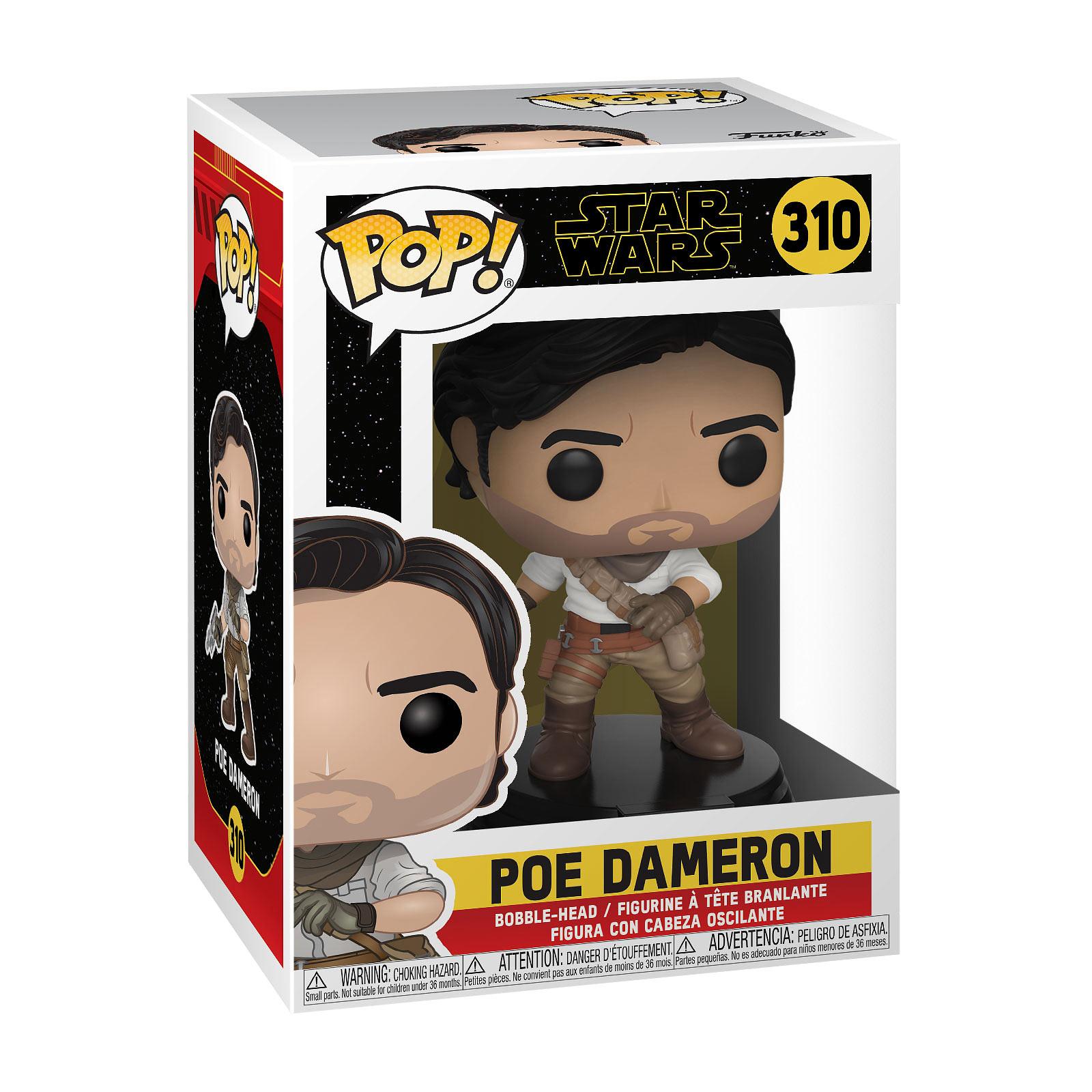 Star Wars - Poe Dameron Episode 9 Funko Pop Wackelkopf-Figur