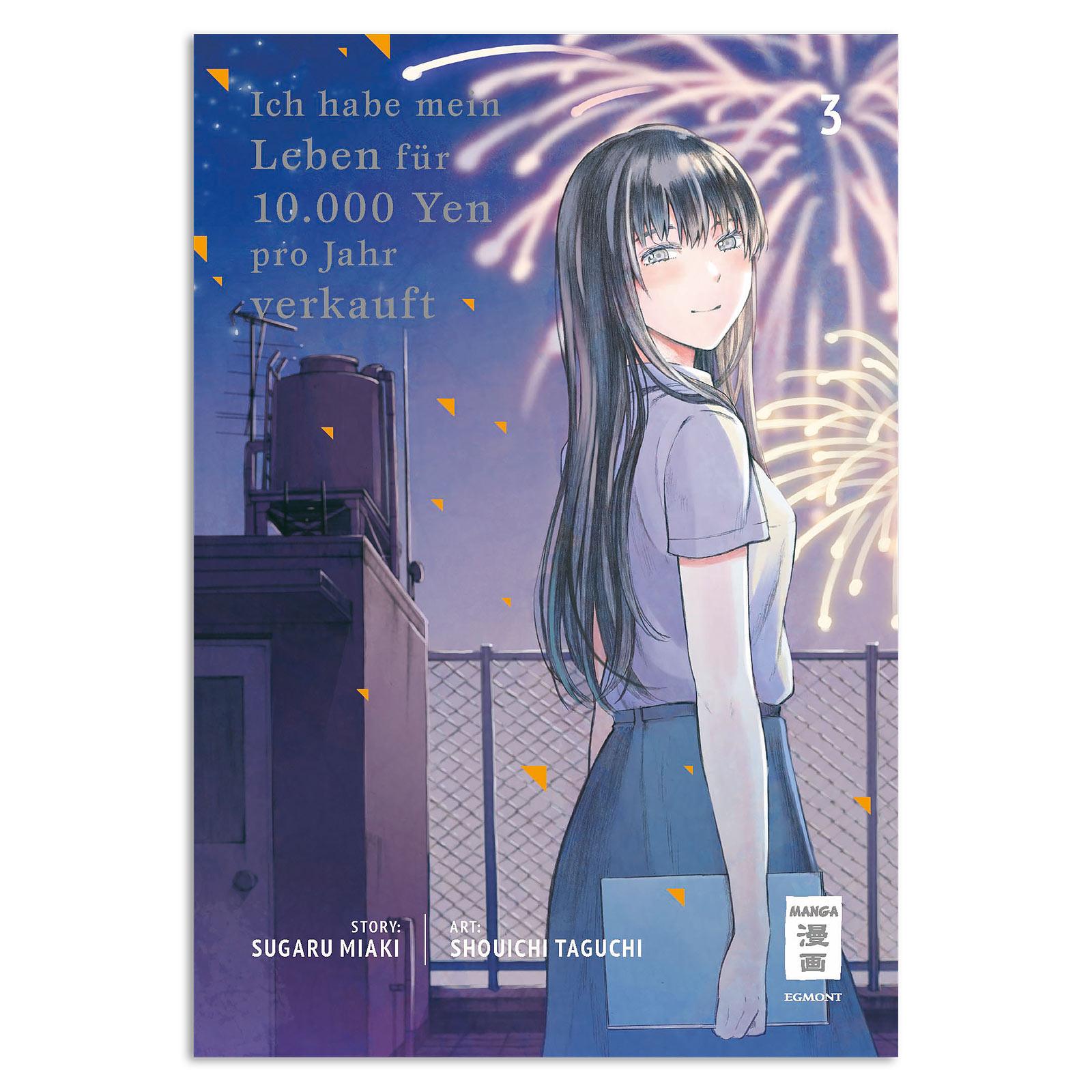 Ich habe mein Leben für 10.000 Yen pro Jahr verkauft - Band 3 Taschenbuch