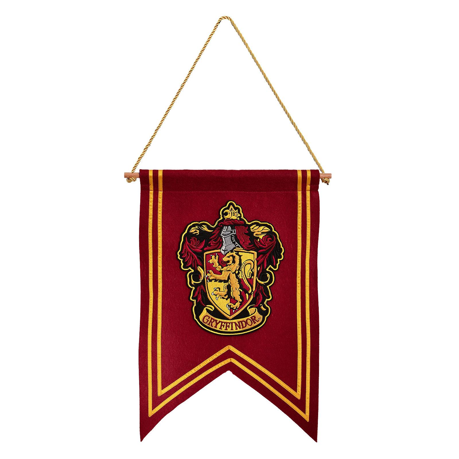 Harry Potter - Gryffindor Wappen Banner Filz