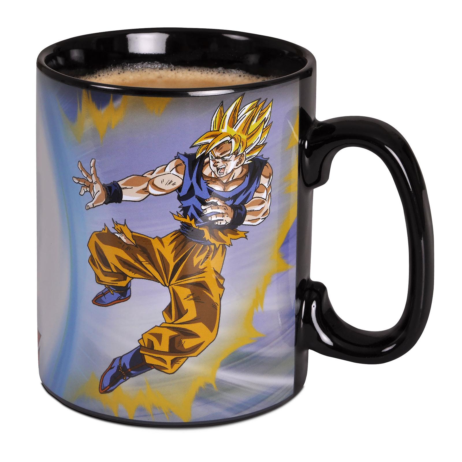 Dragon Ball Z - Goku vs. Buu Thermoeffekt Tasse