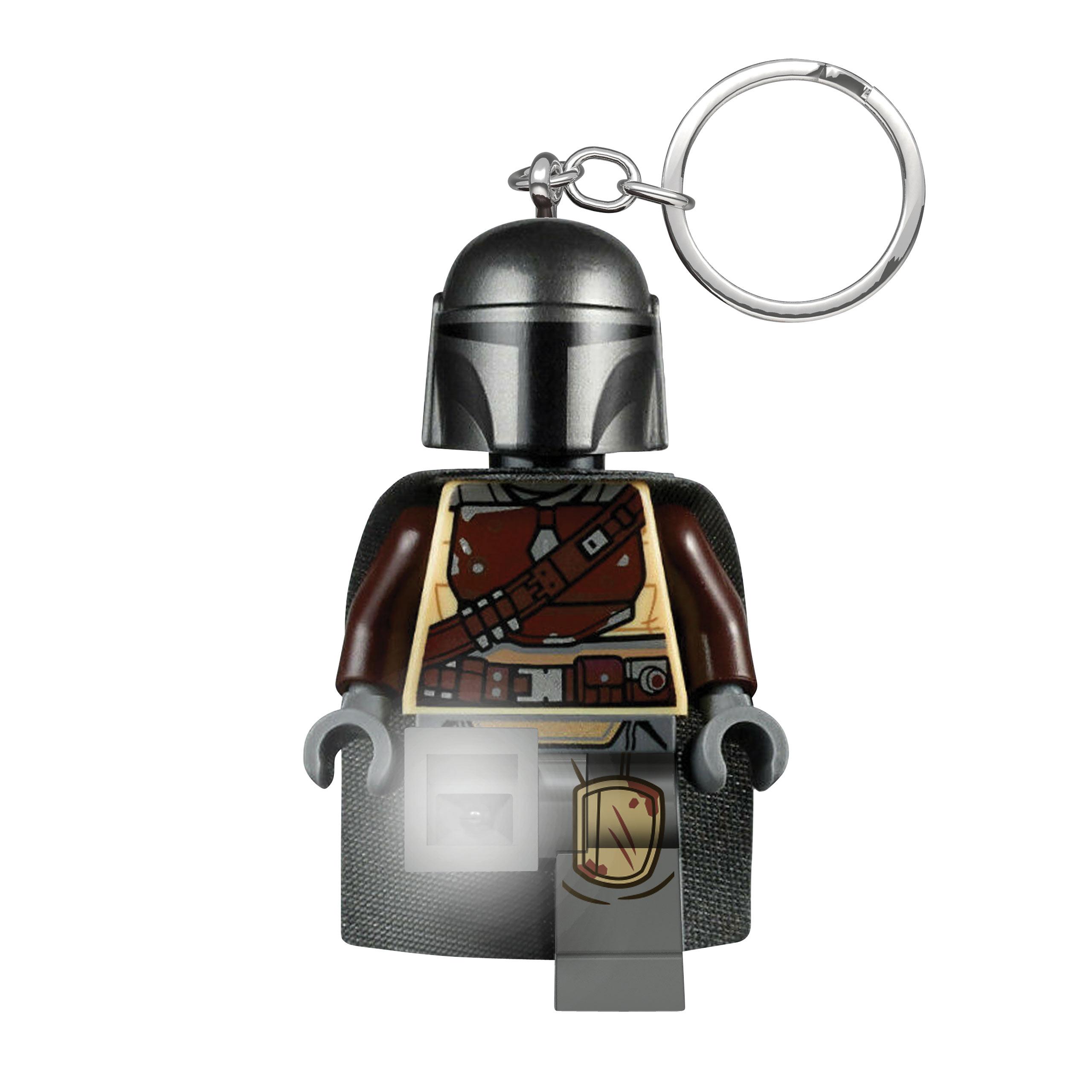 The Mandalorian LEGO Schlüsselanhänger mit Licht - Star Wars