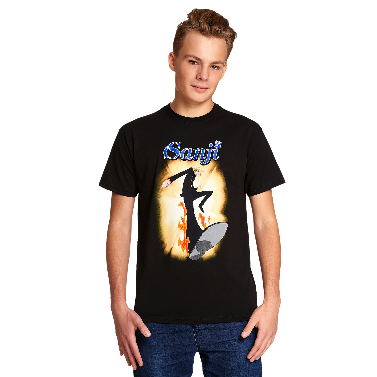 One Piece - Sanji T-Shirt schwarz