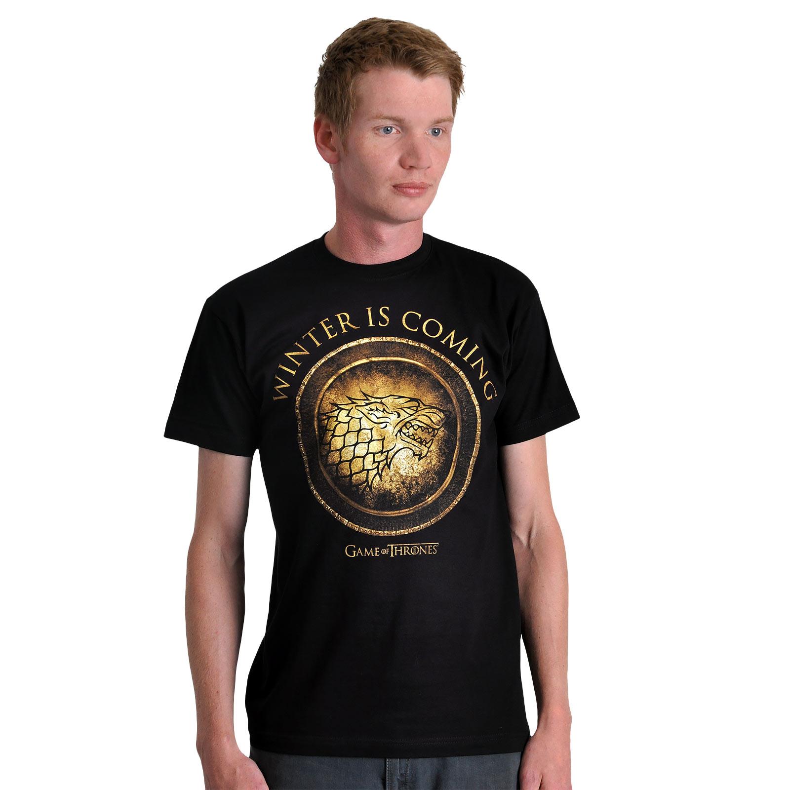 Game of Thrones - House Stark Circular T-Shirt
