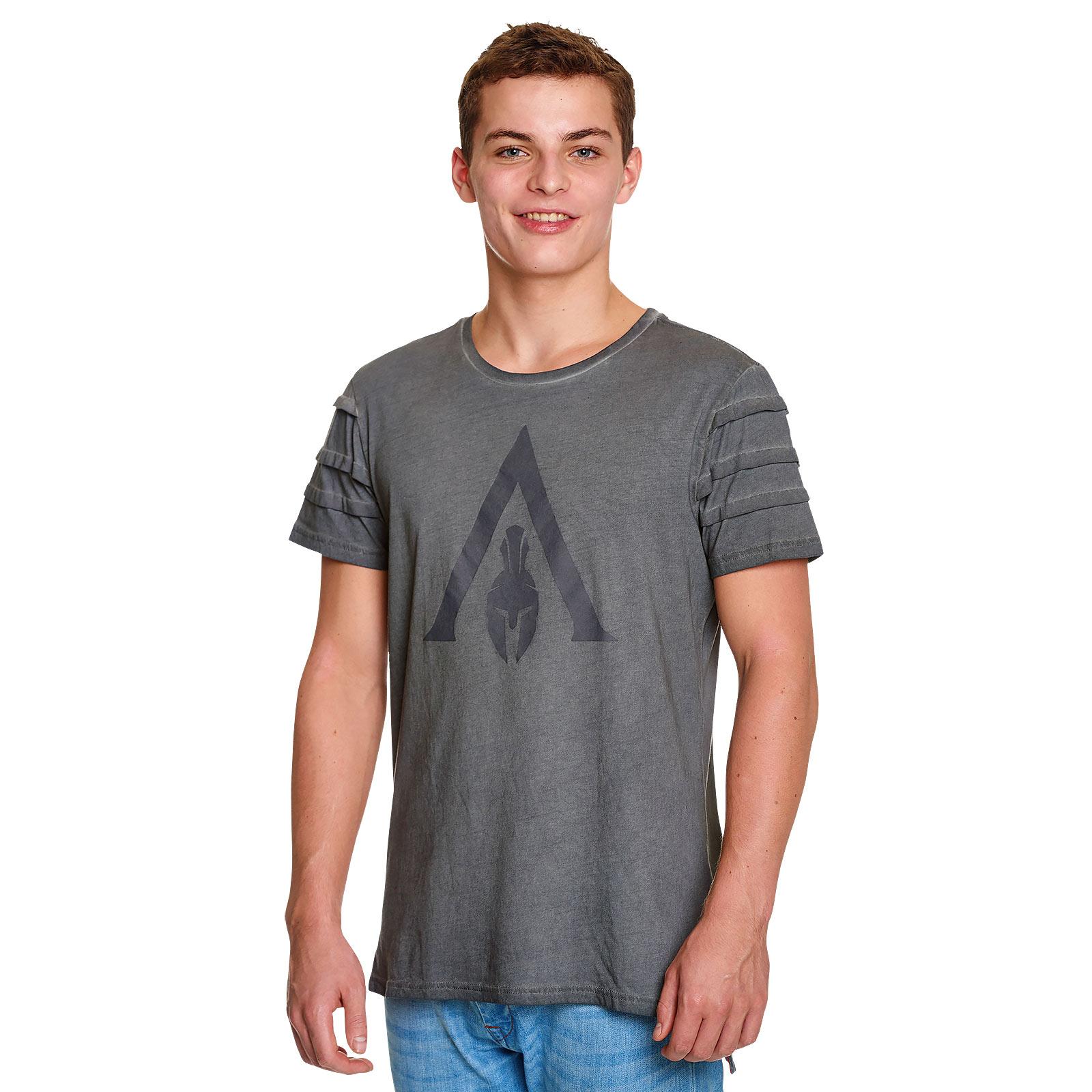 Assassins Creed - Odyssey Logo T-Shirt grau