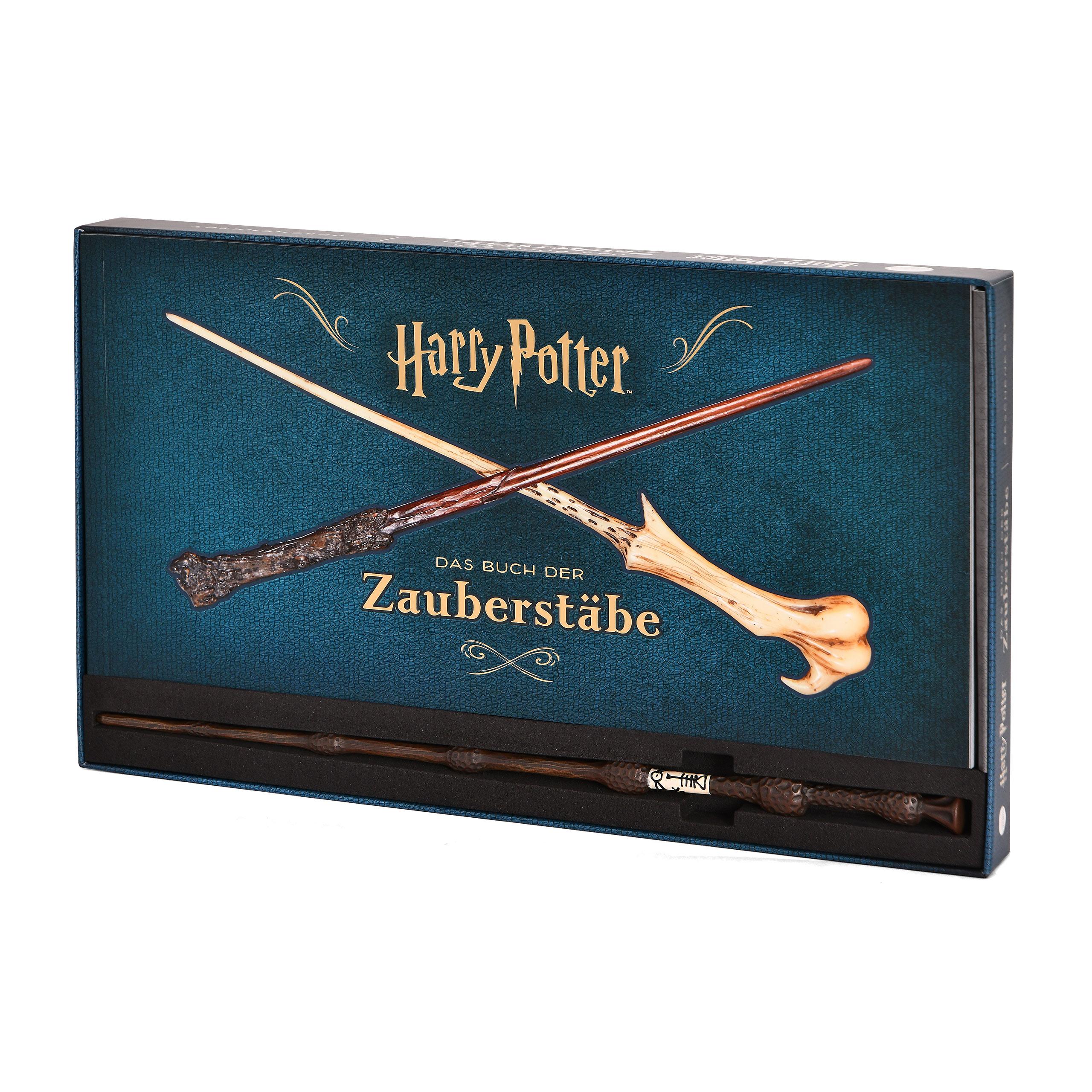 Harry Potter - Das Buch der Zauberstäbe Geschenkset