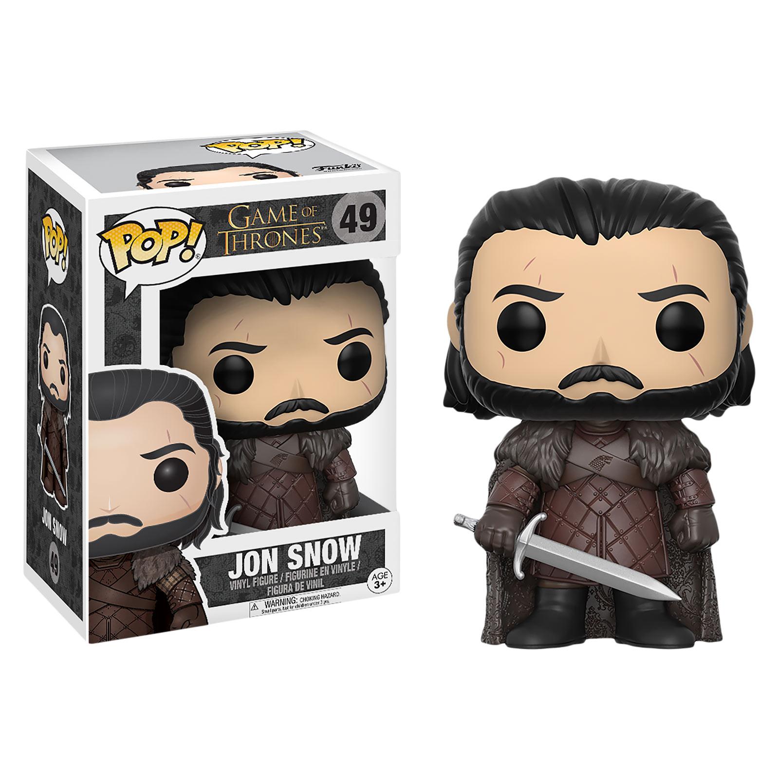 Game of Thrones - Jon Snow Edition 7 Funko Pop Figur