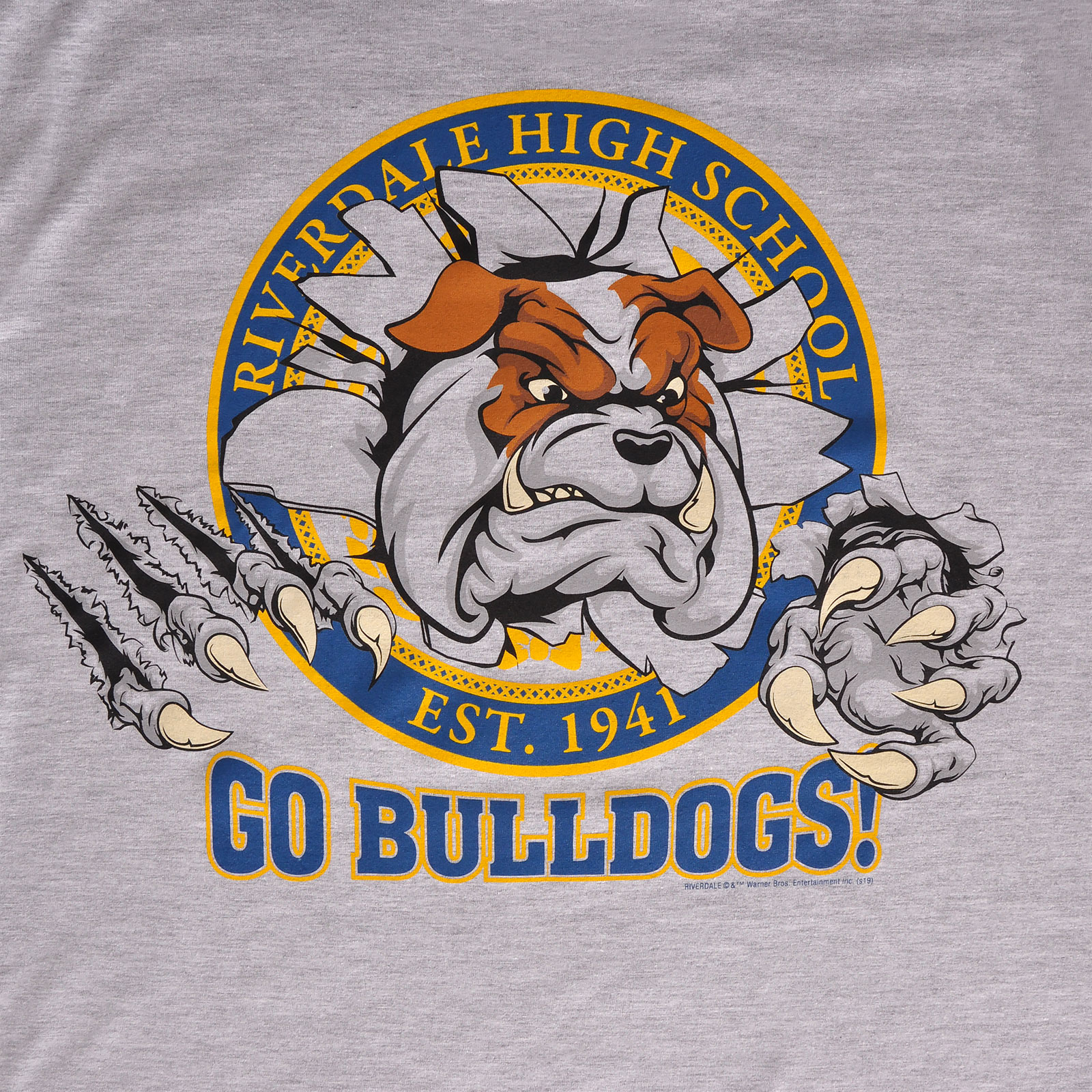 Riverdale - Go Bulldogs! T-Shirt grau