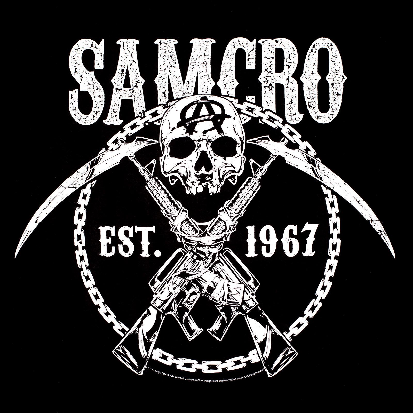 Sons of Anarchy - Samcro T-Shirt schwarz