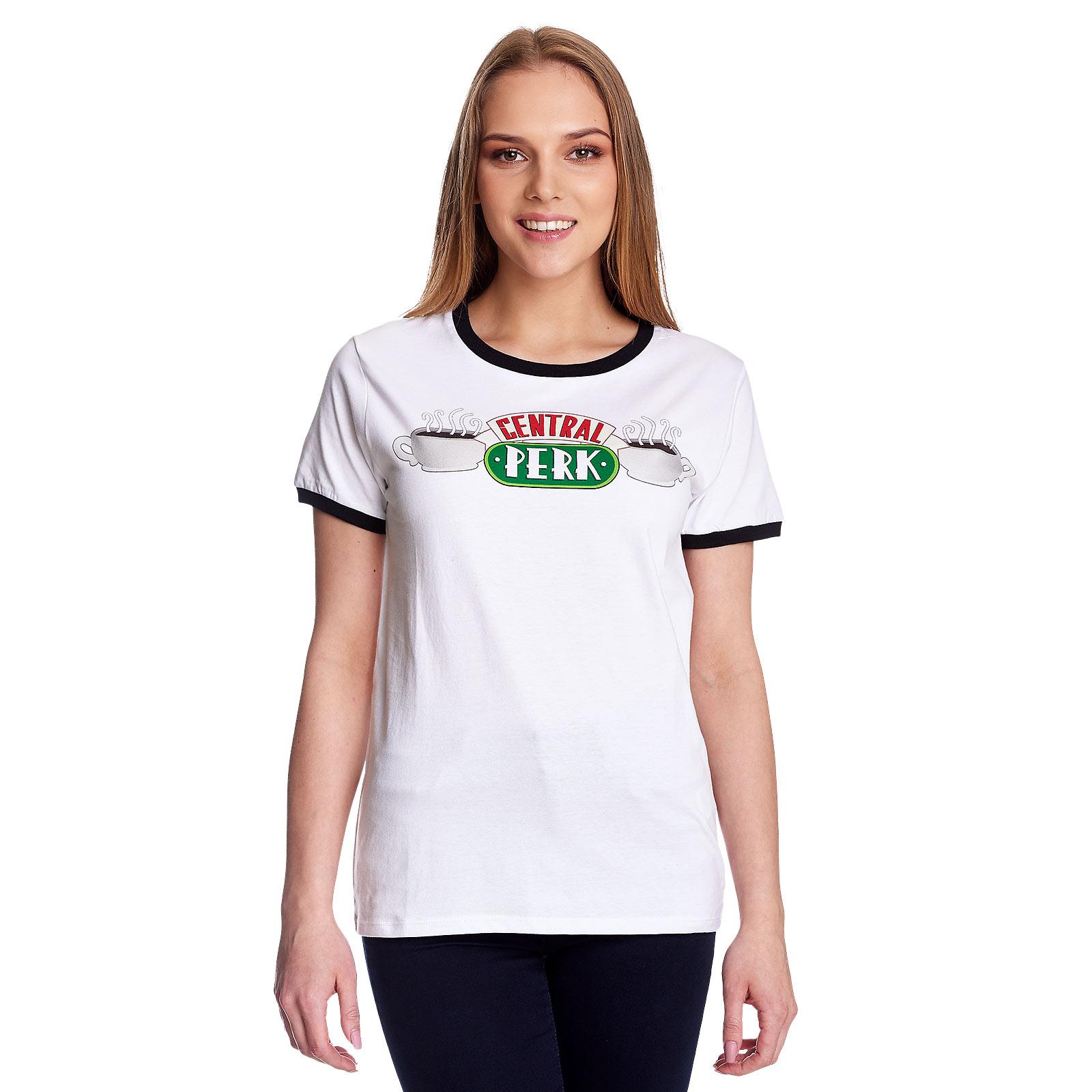 Friends - Central Perk T-Shirt Damen weiß
