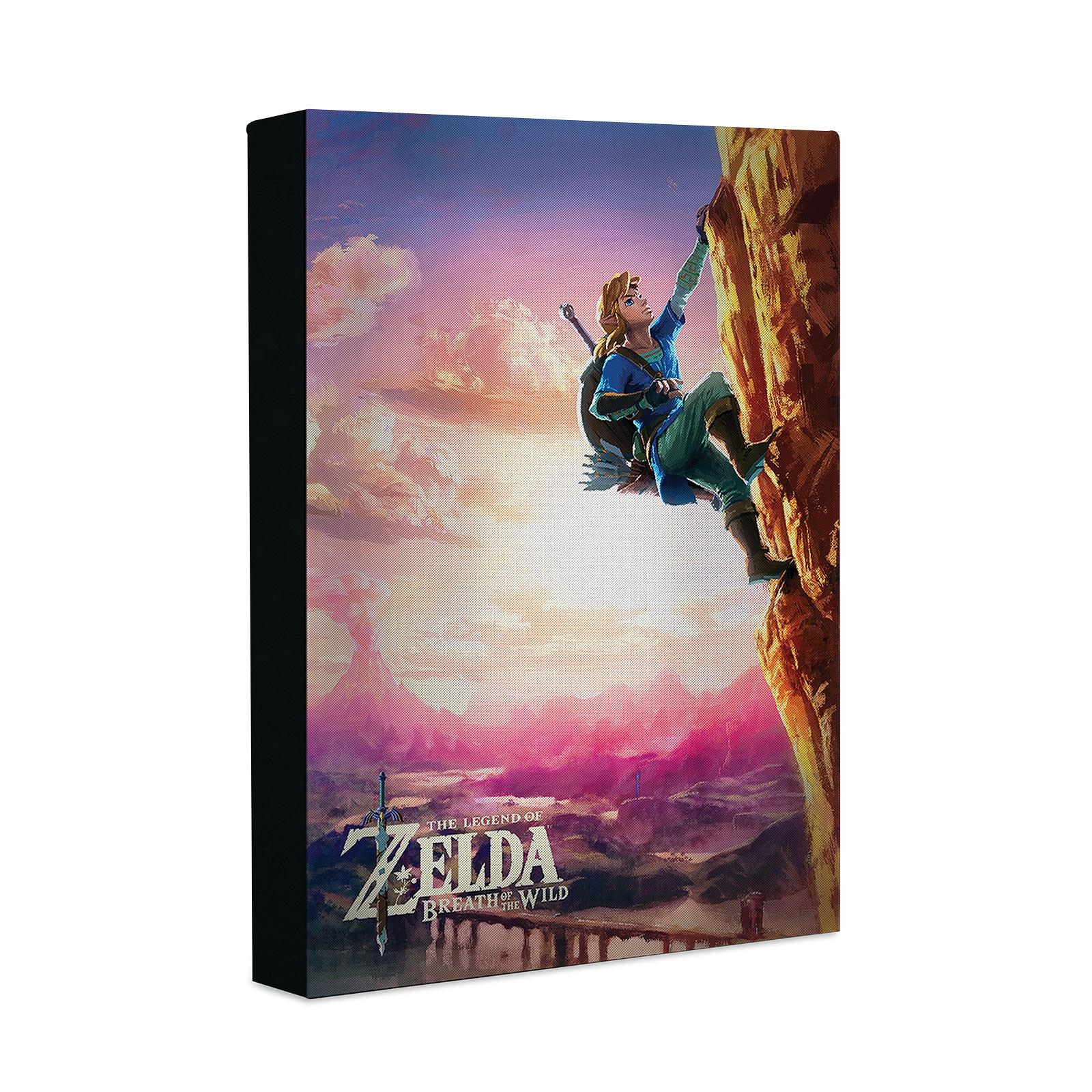 Zelda - Link Wandbild mit Licht