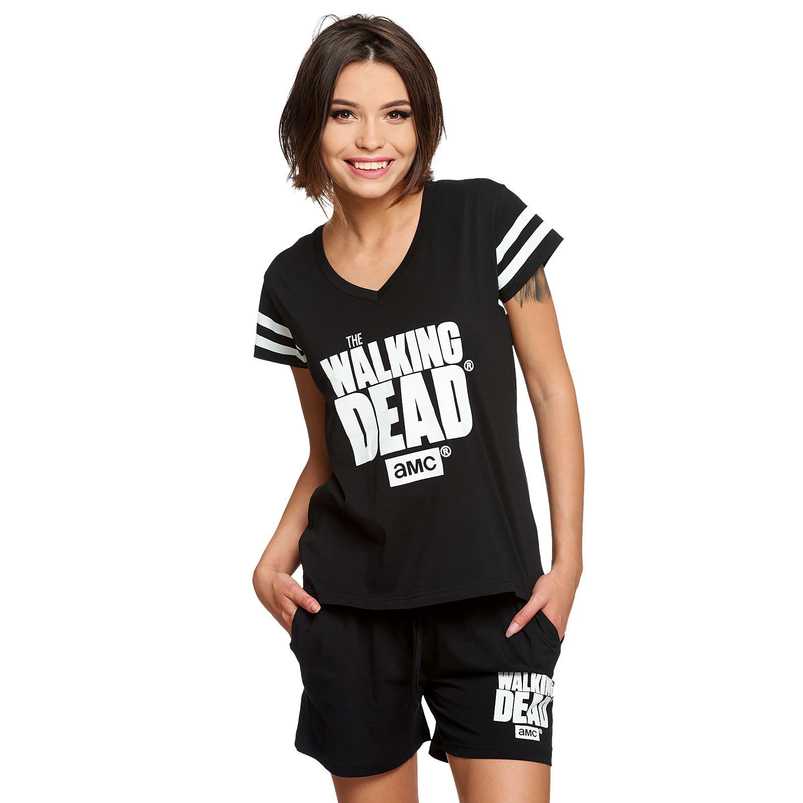 Walking Dead - Logo Pyjama kurz Damen
